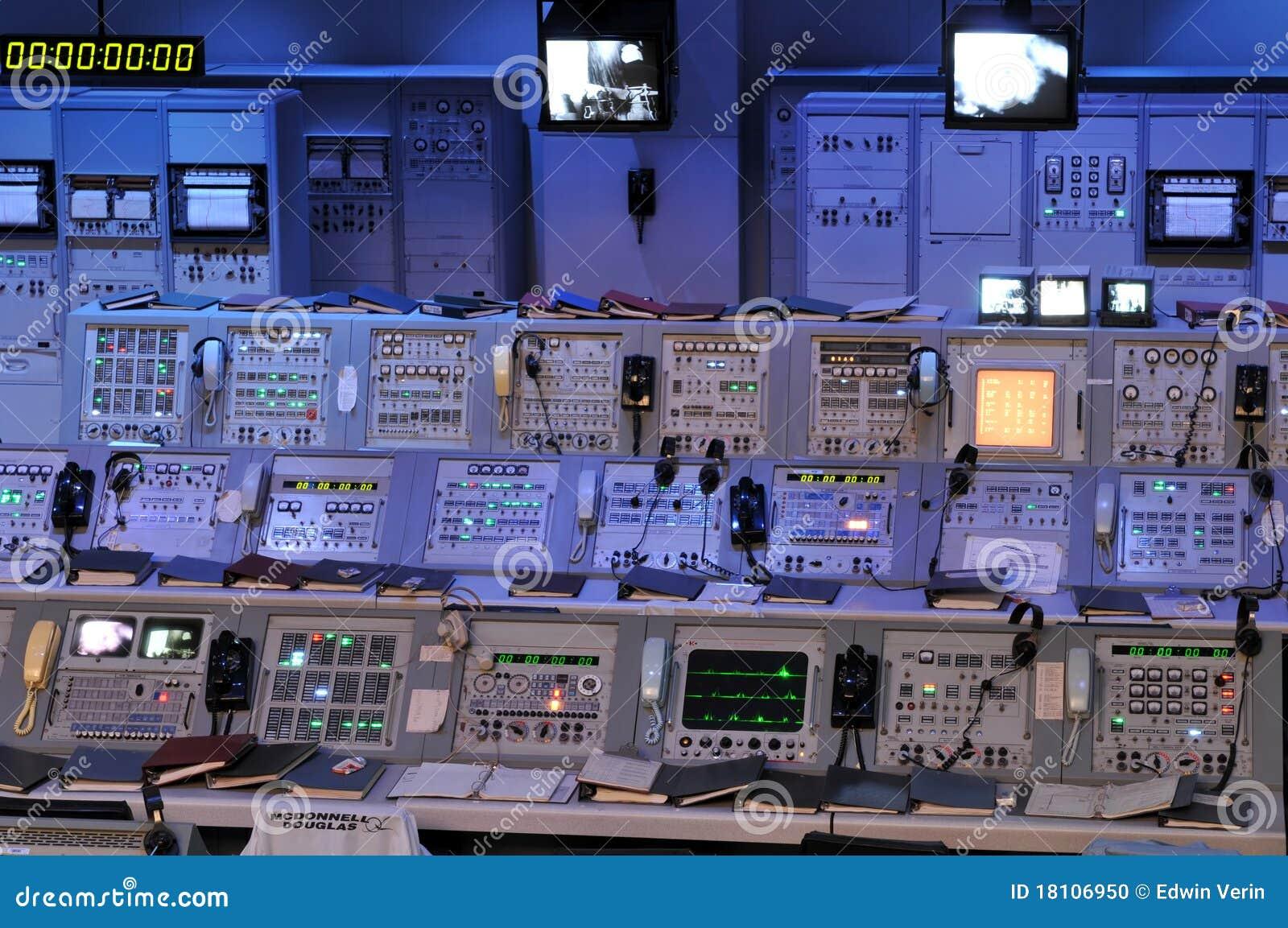 Station de la commande de la NASA