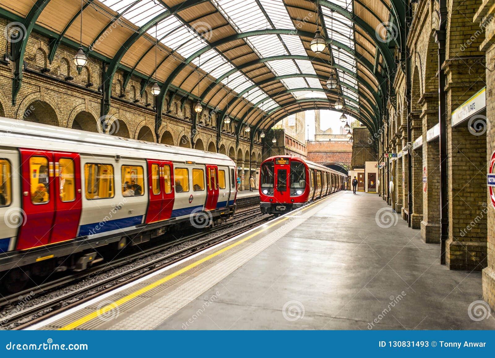 Station de porte de Notting Hill