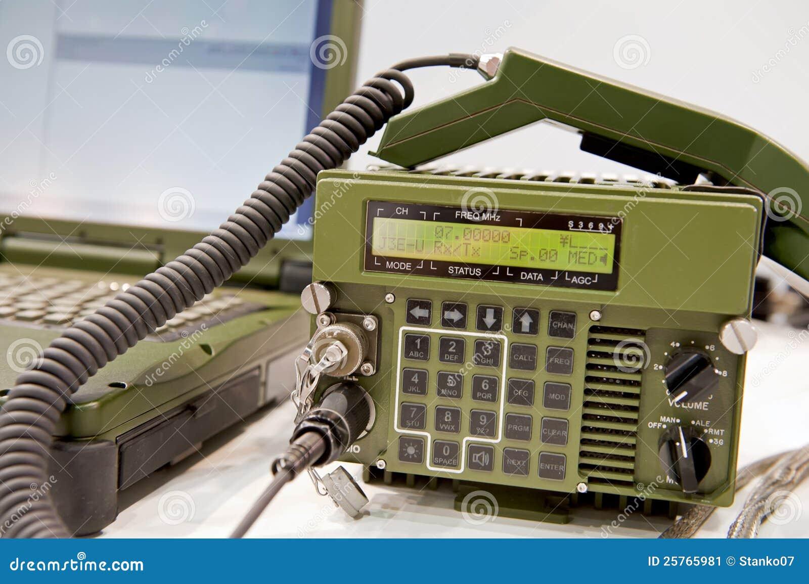 station de radio militaire image stock image 25765981. Black Bedroom Furniture Sets. Home Design Ideas