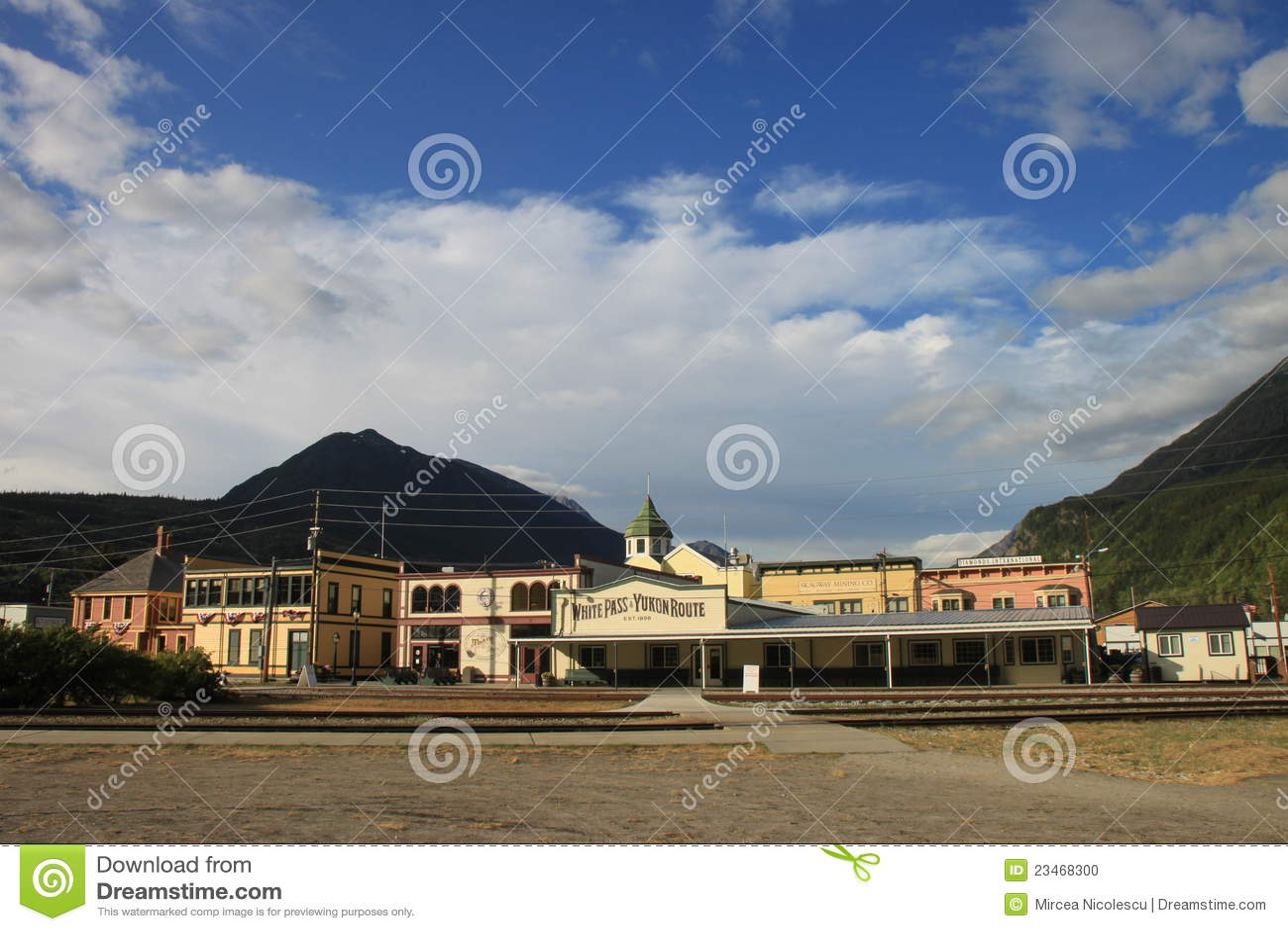 Station de train de Skagway