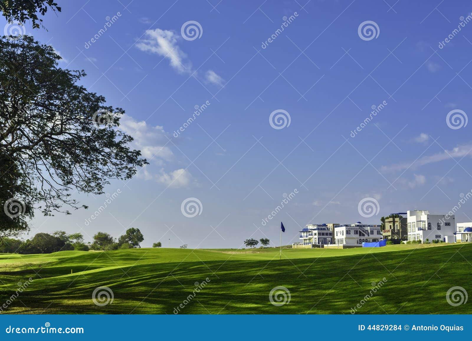 Station de vacances de golf
