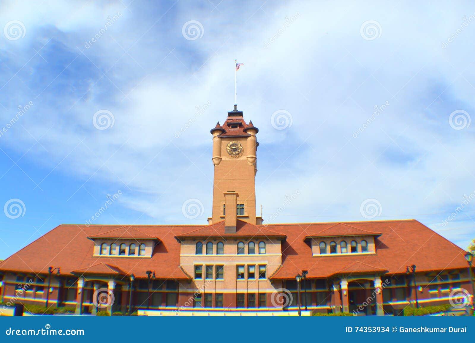 Station des syndicats de Springfield