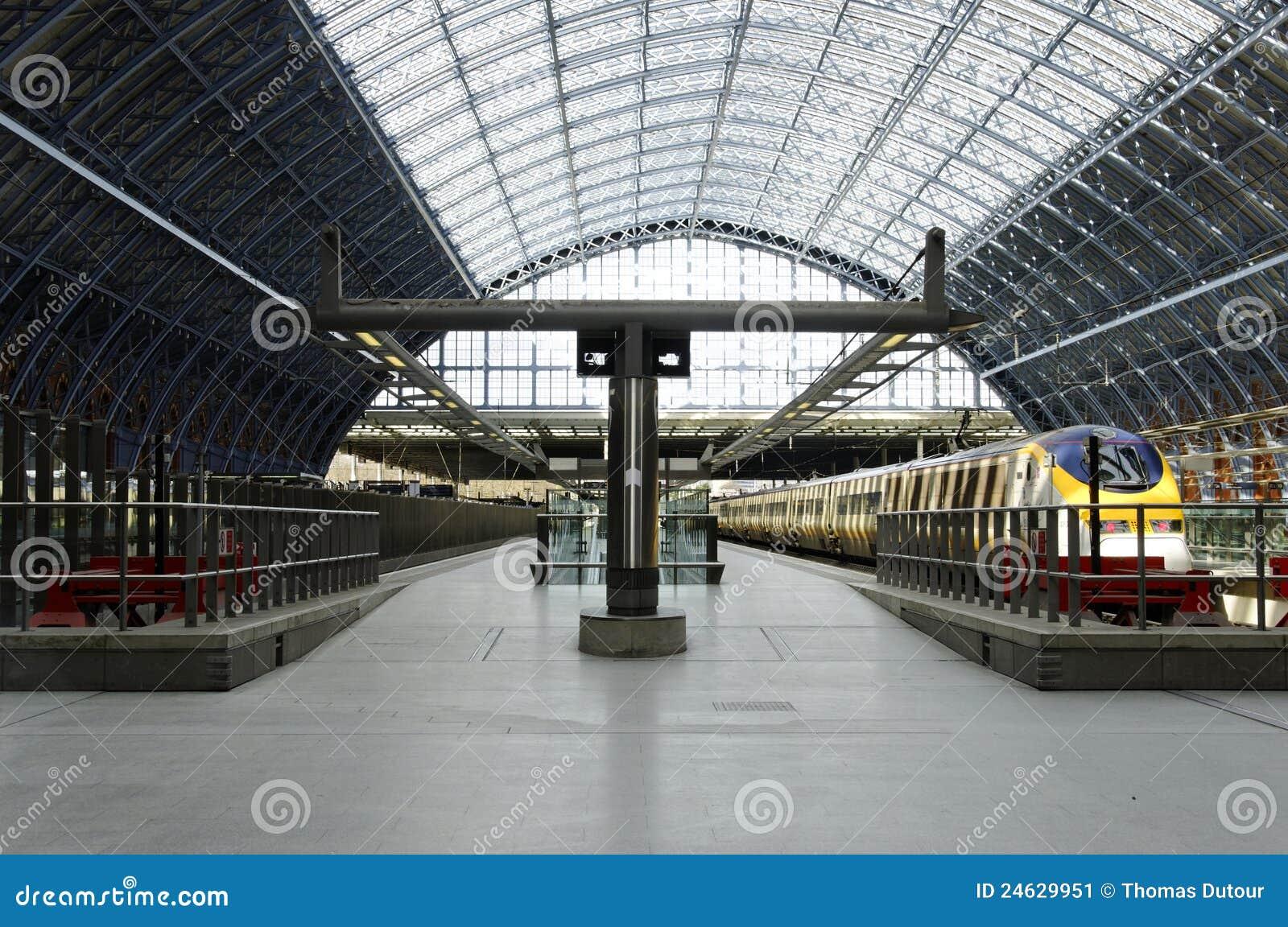 Station för eurostar pancrasst