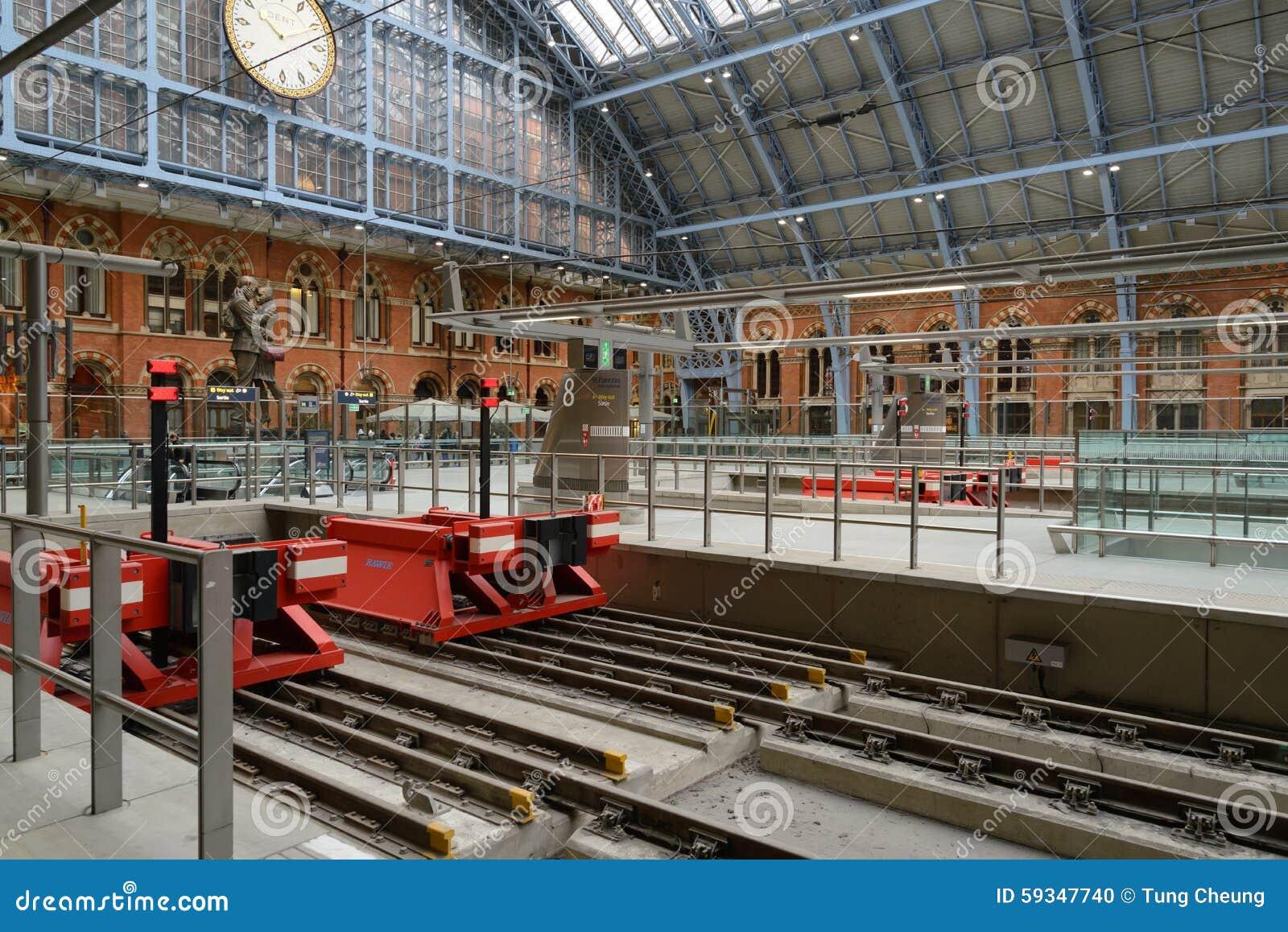 Station för St Pancras