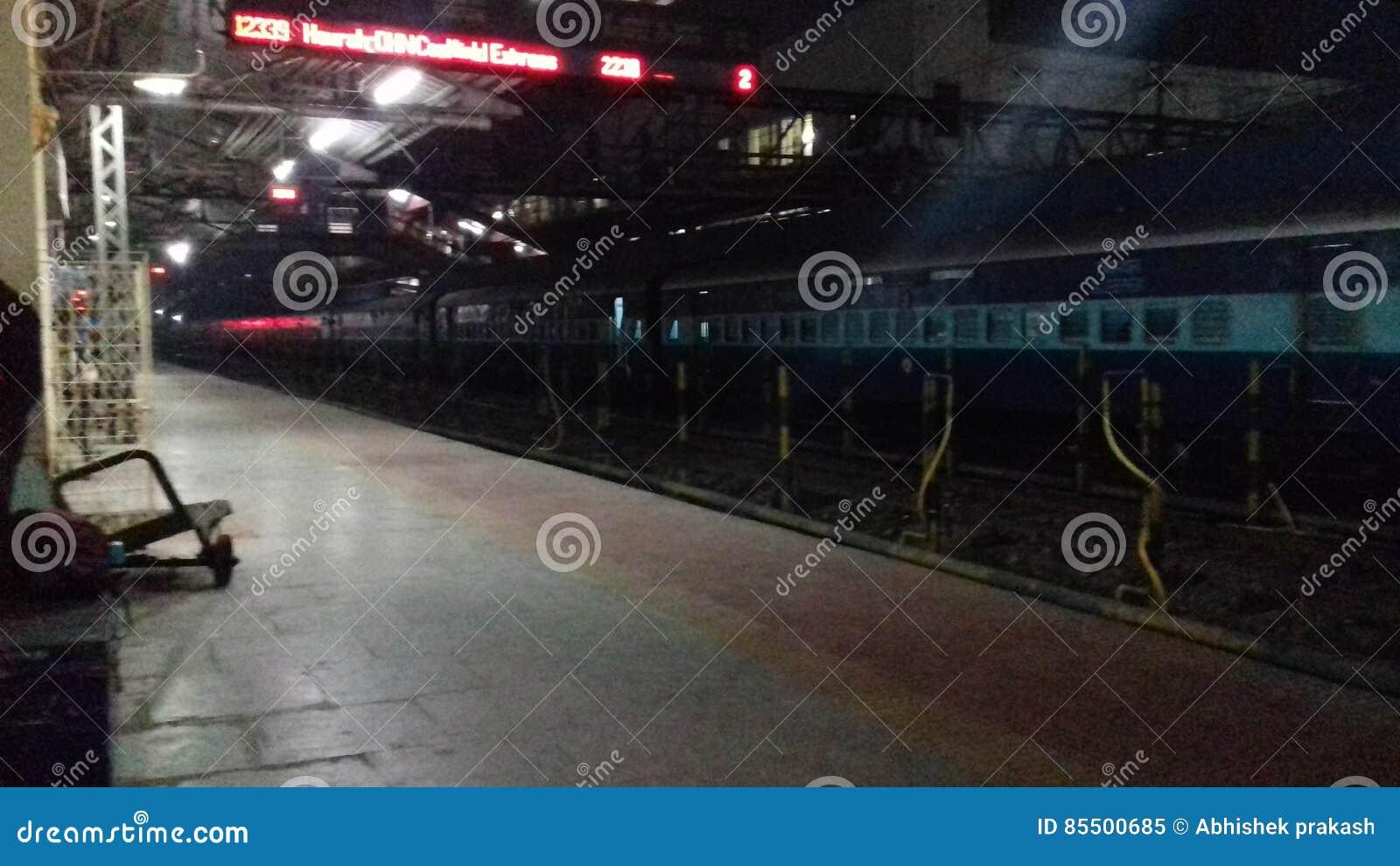 Station raiway de dhanbad d Inde