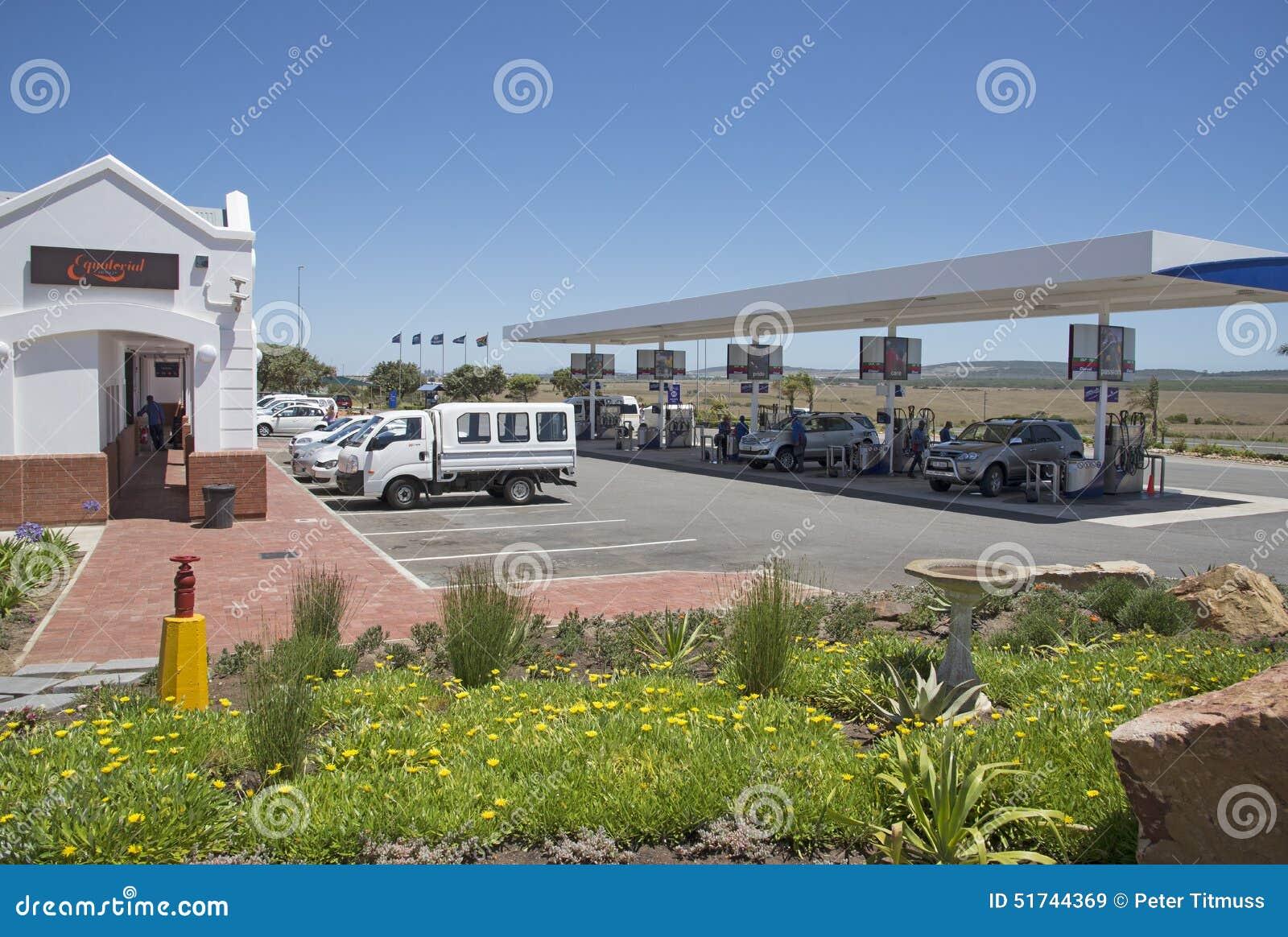 Station Service Sur La Route Afrique Du Sud De N2 Image