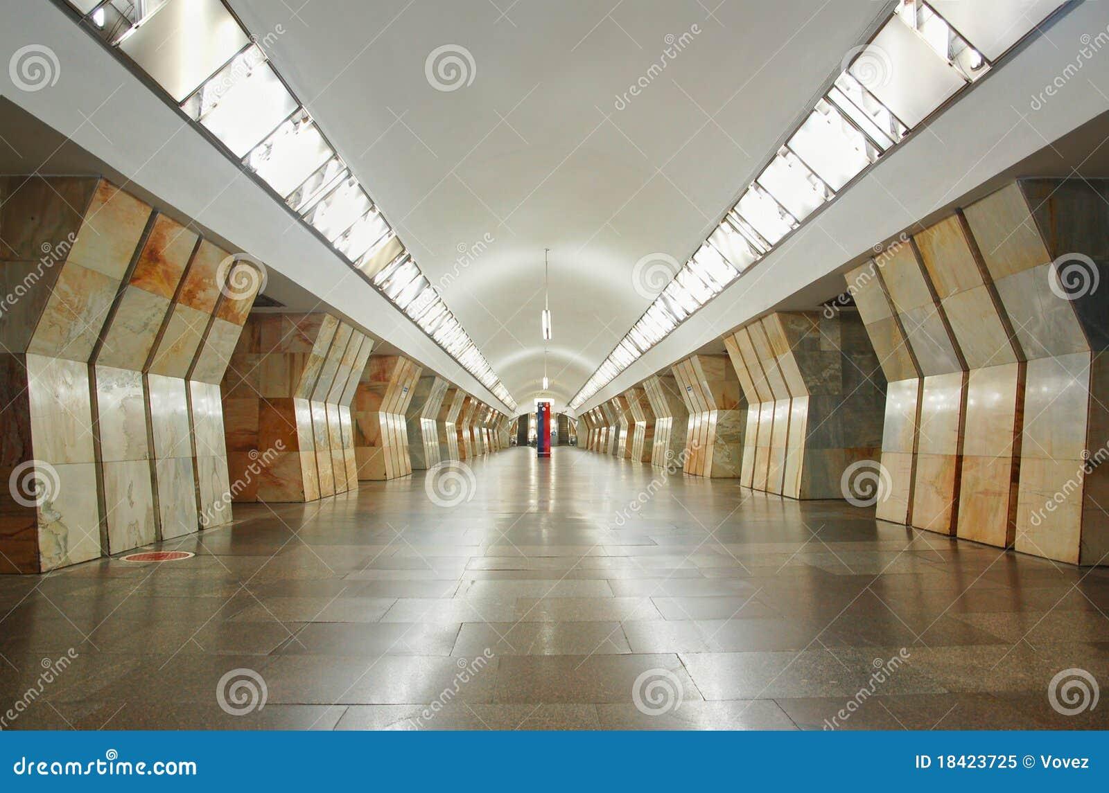 station sukharevskaya in der moskau metro stockbild bild von metro fu boden 18423725. Black Bedroom Furniture Sets. Home Design Ideas