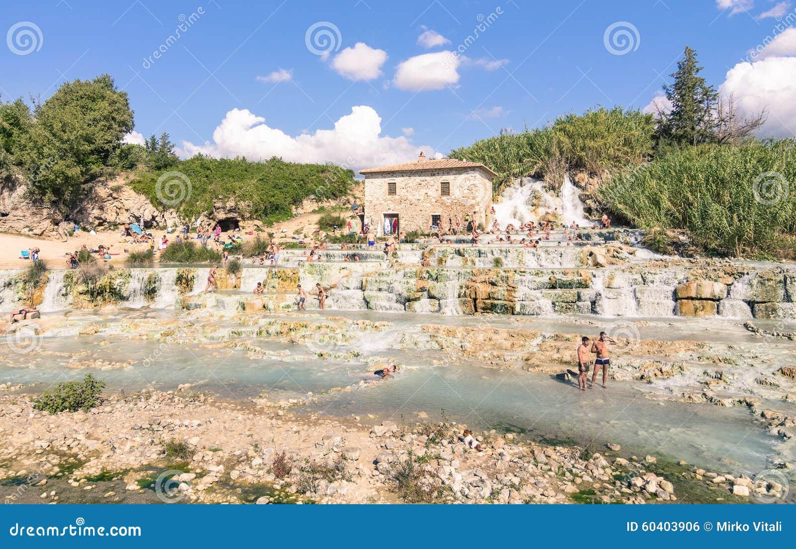 Station thermale thermique naturelle dans le saturnia for Dans italien