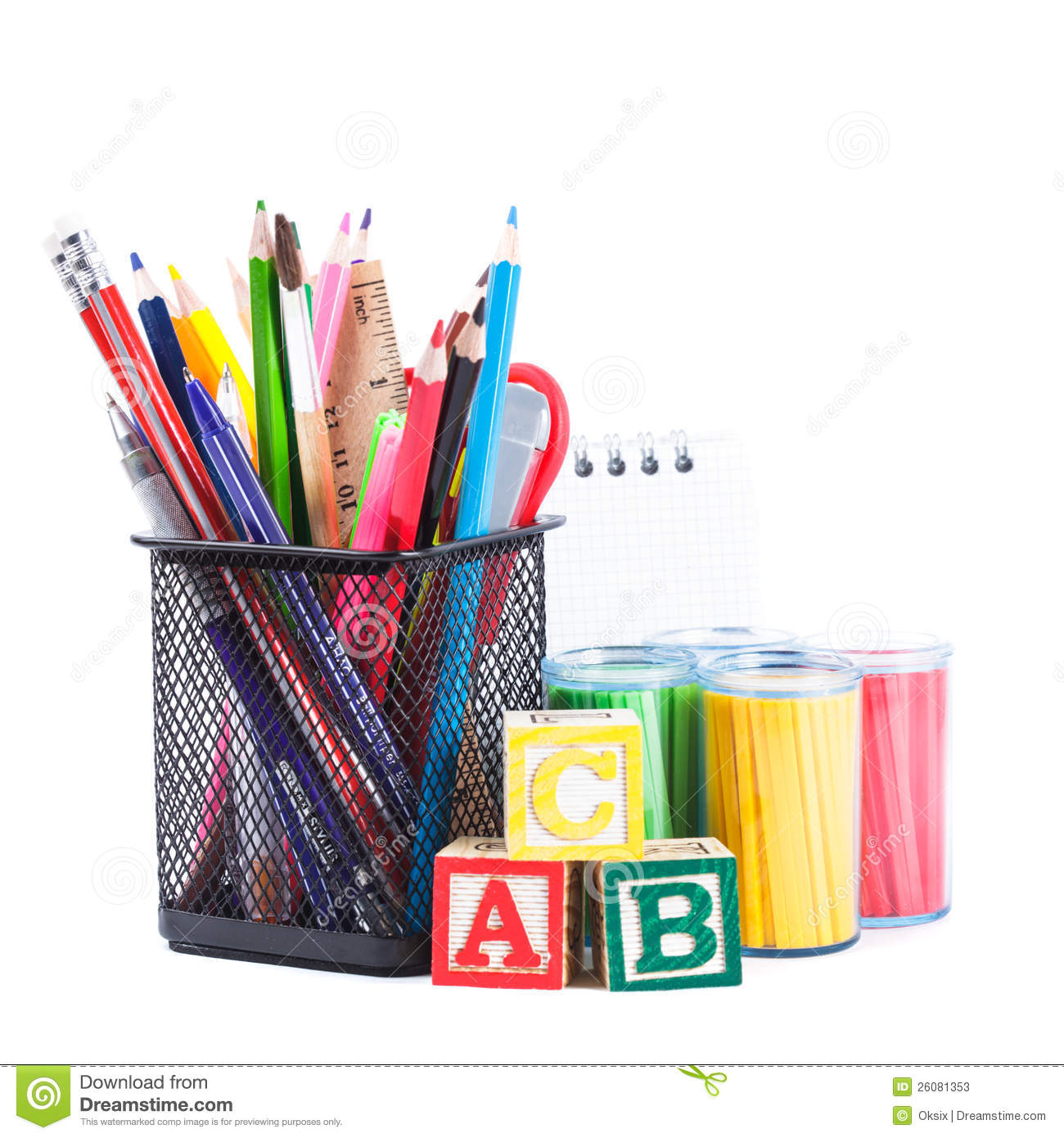 Stationary For School Stock Photos Image 26081353