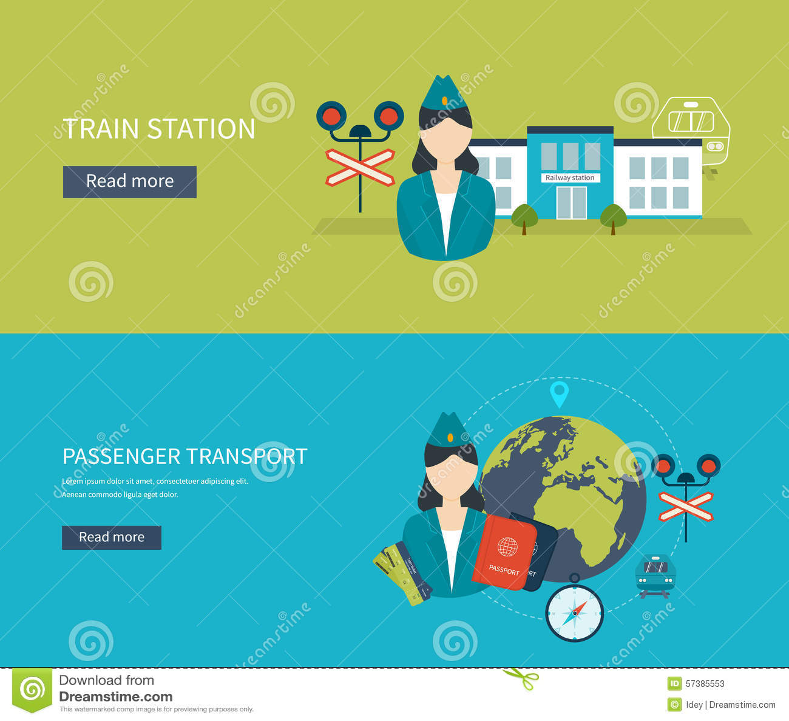 Stationconcept Passagiersvervoer