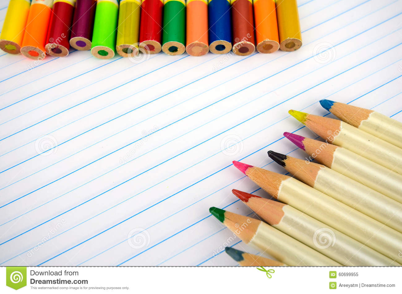 Stationery And Notebook Paper With Lines Photo Image – Stationery Paper with Lines