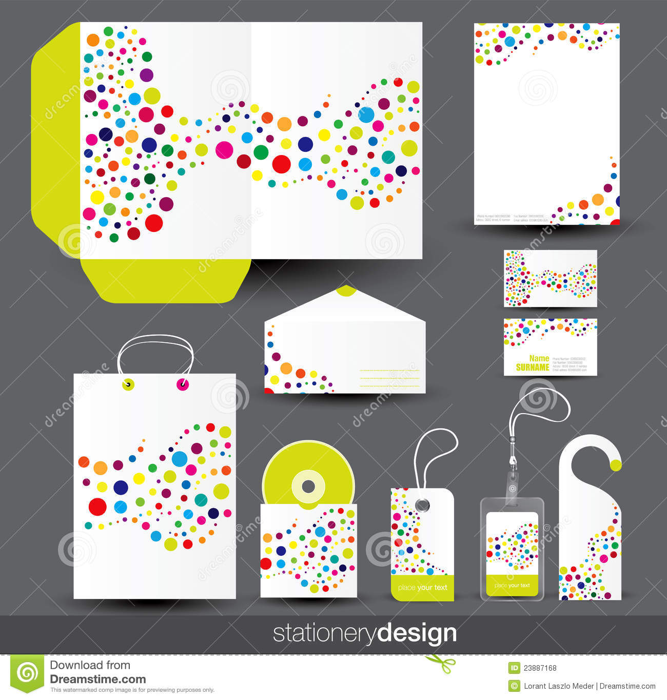 stationery template design stock vector illustration of envelope