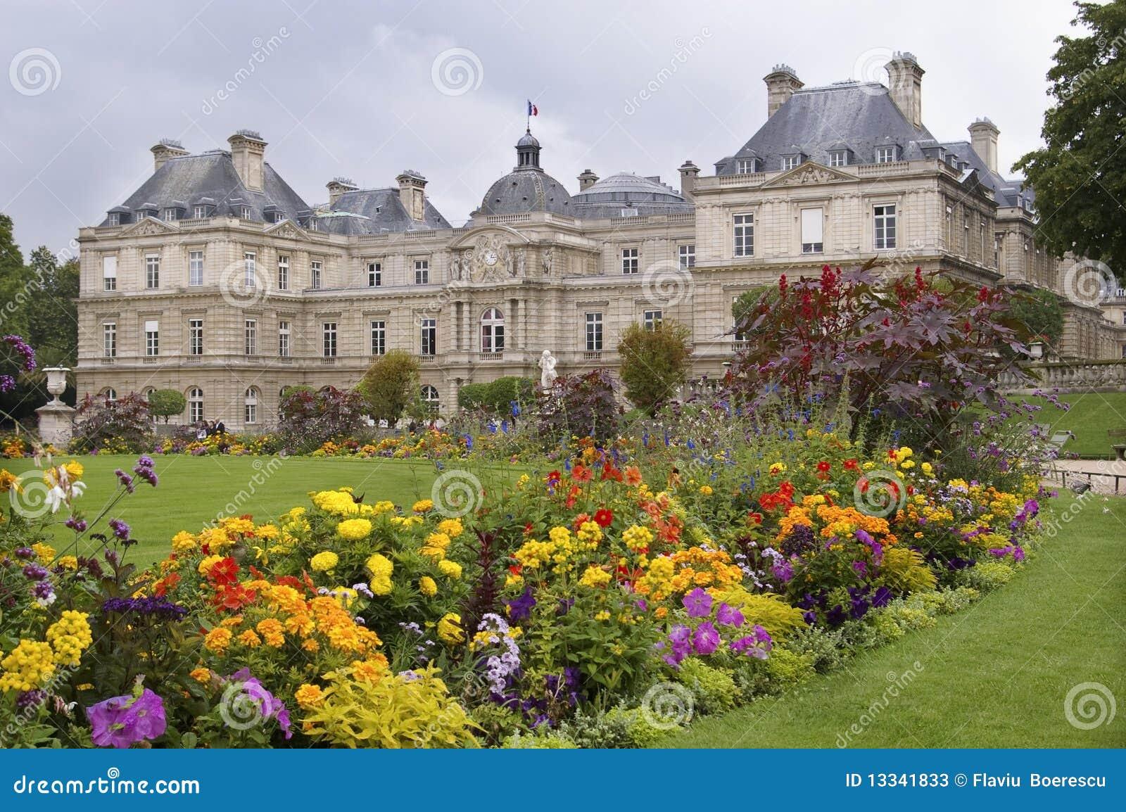 Stationnement dans le jardin luxembourg de paris image - Station metro jardin du luxembourg ...