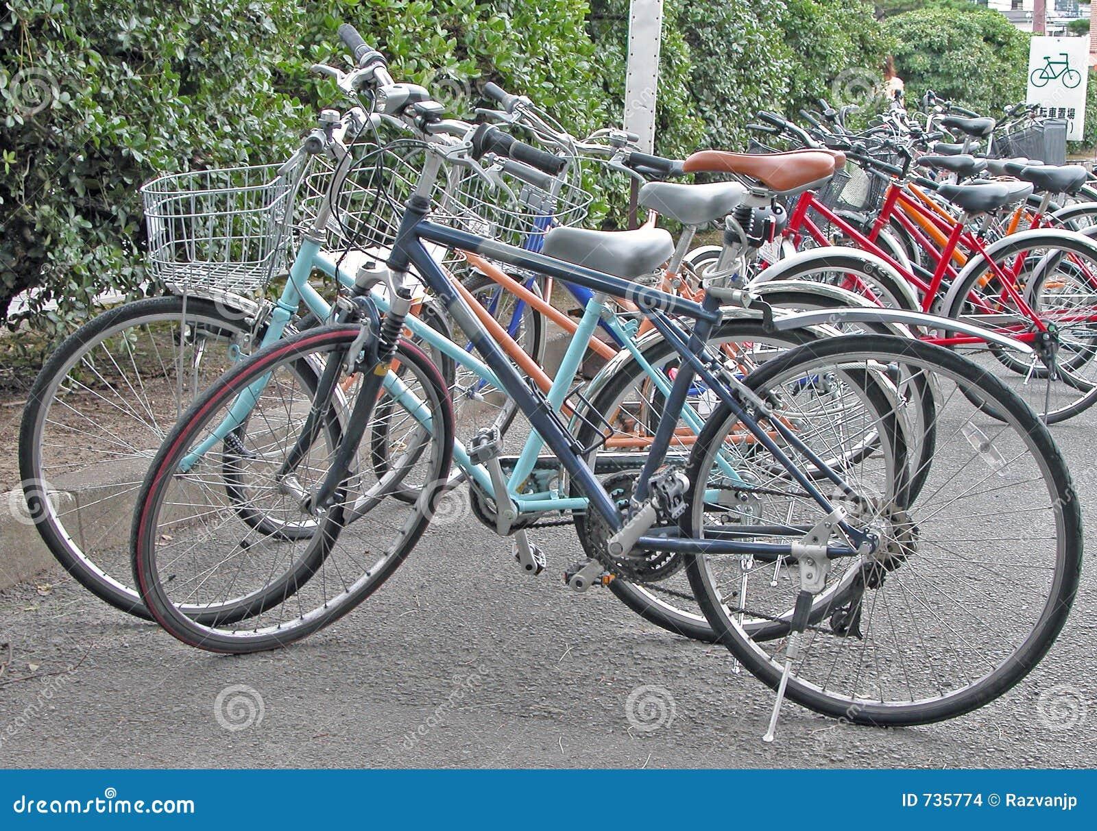 Stationnement de bicyclette