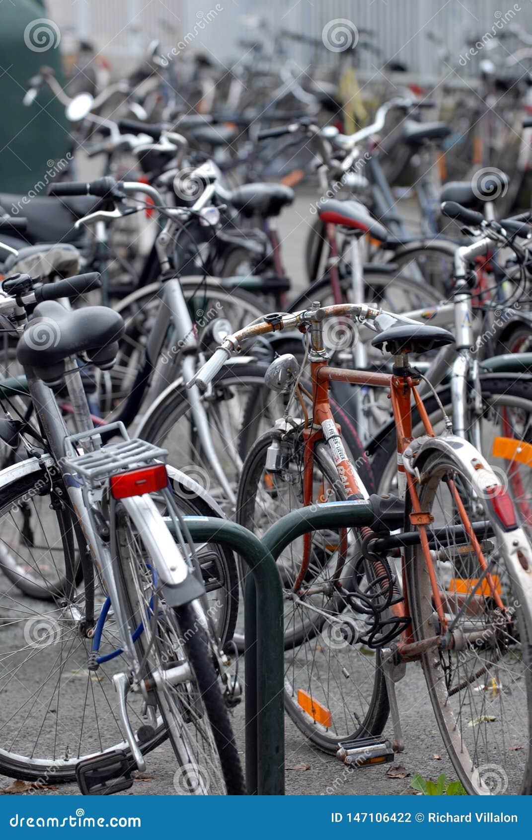 Stationnement de bicyclette en France