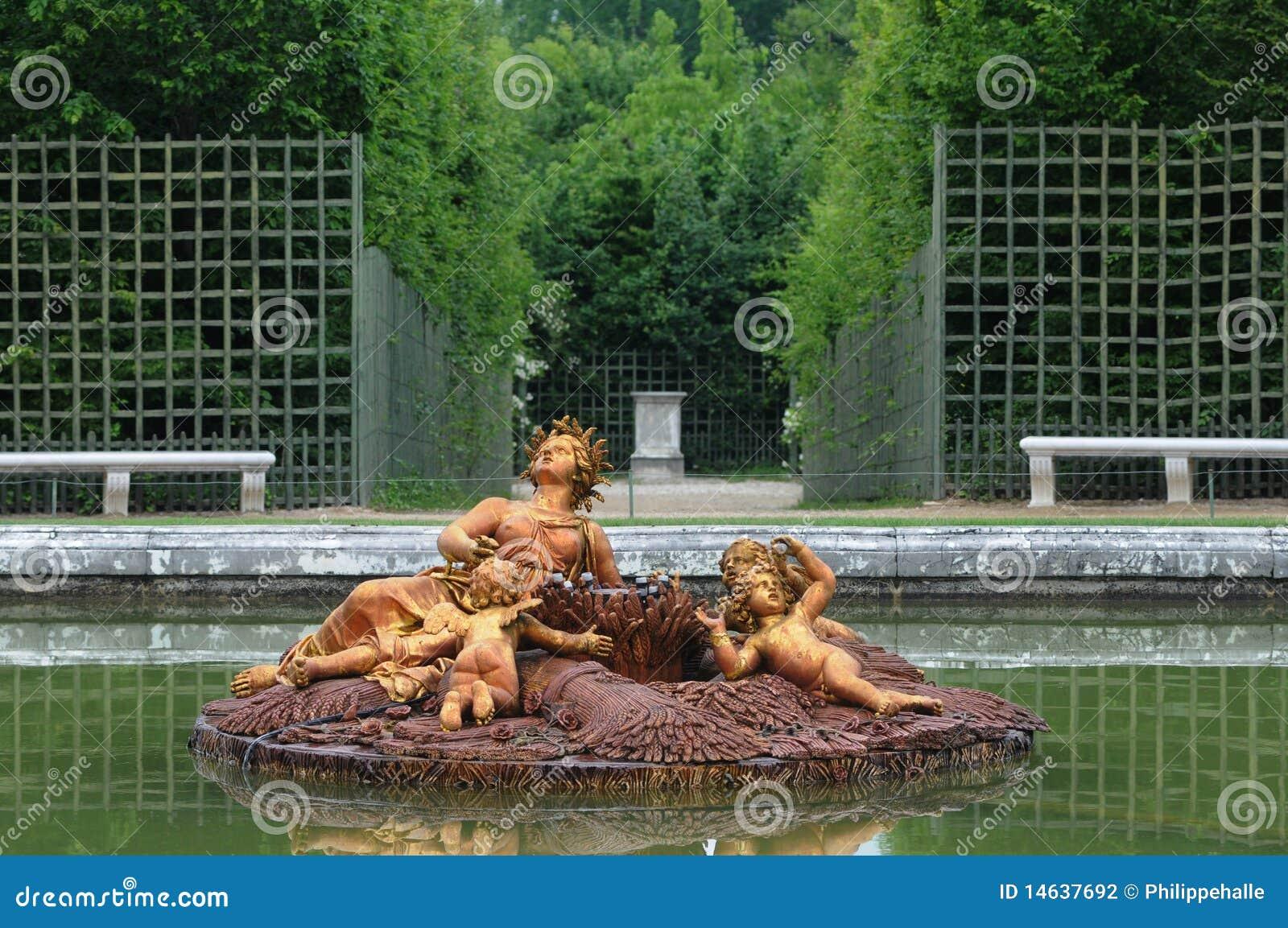 Stationnement de palais de Versailles