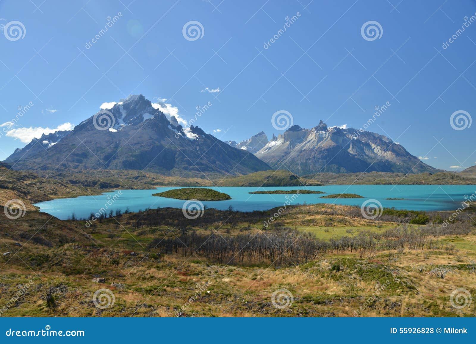 Stationnement national de Torres del Paine - lac Pehoe