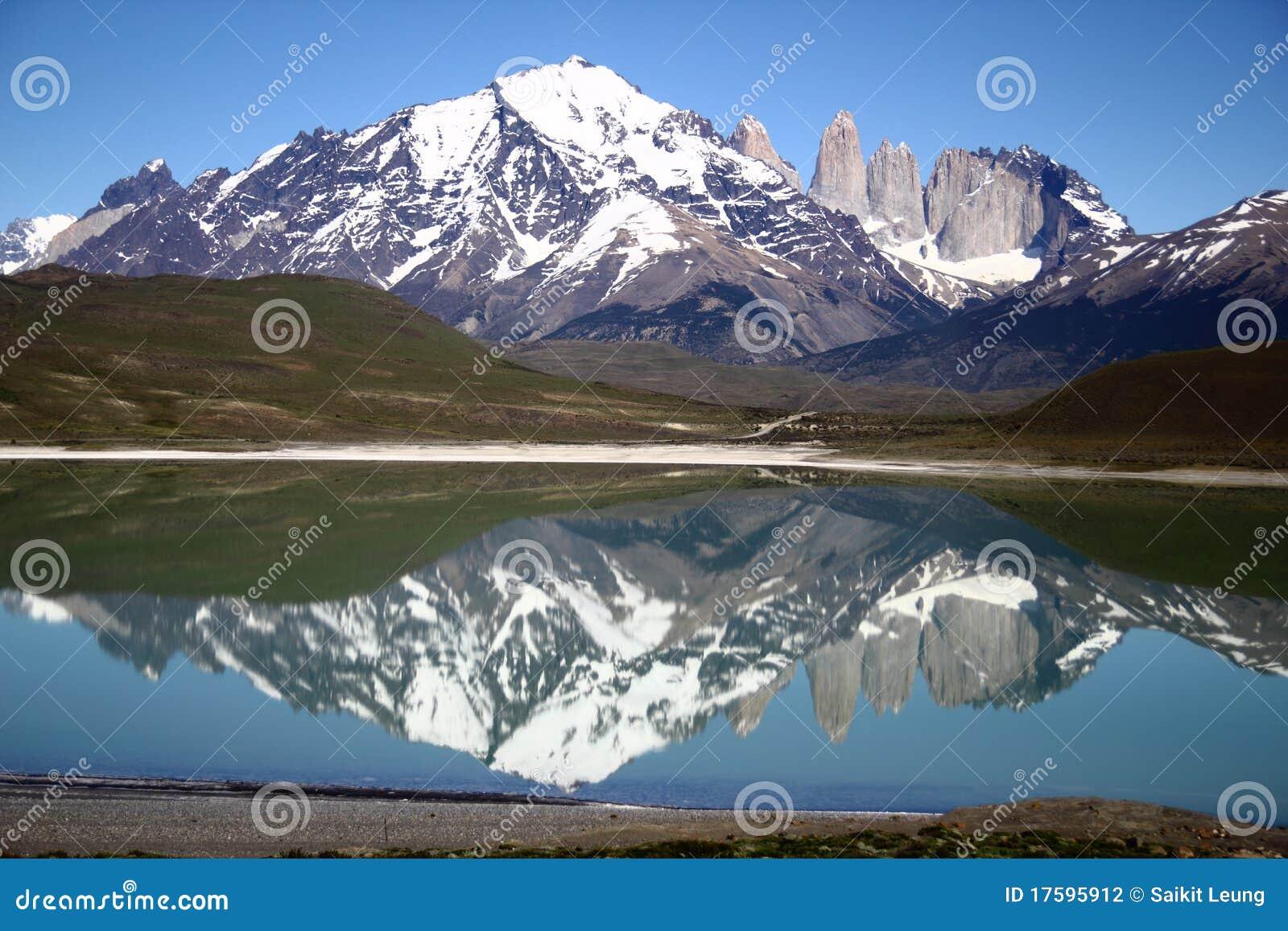 Stationnement national de Torres del Paine, Patagonia, Chili