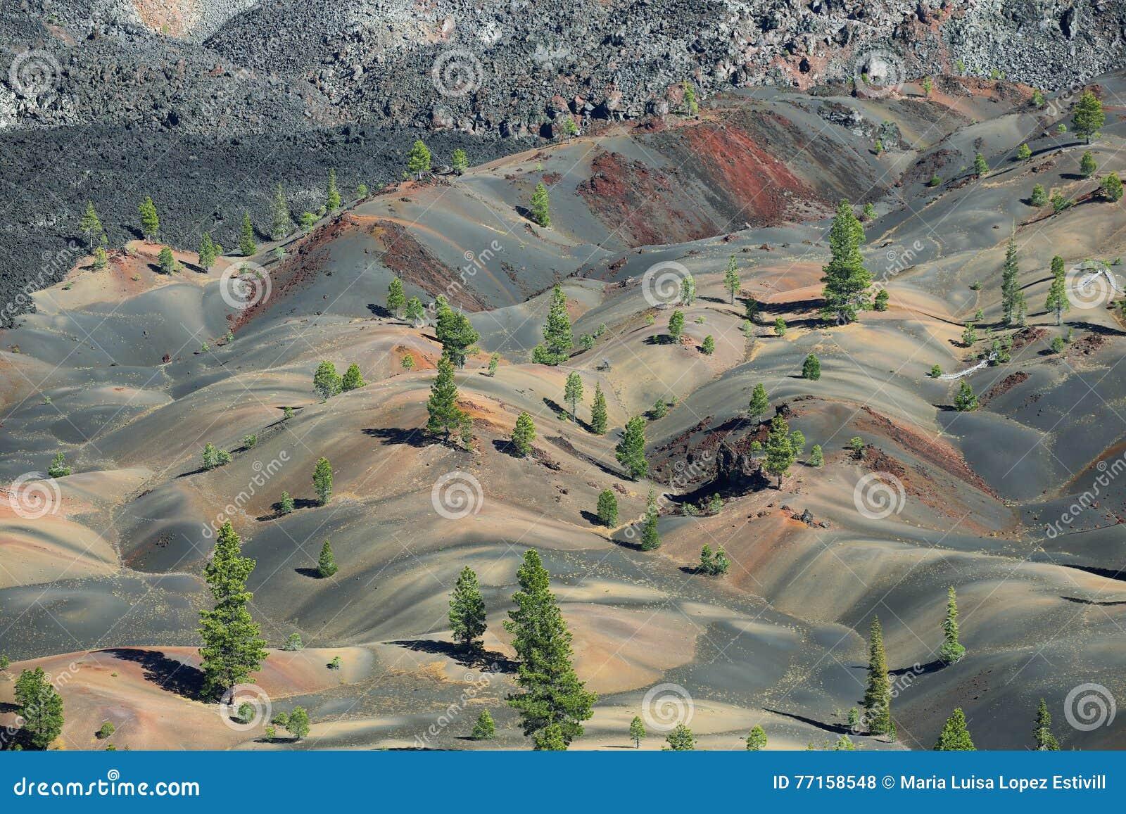 Stationnement national volcanique de Lassen