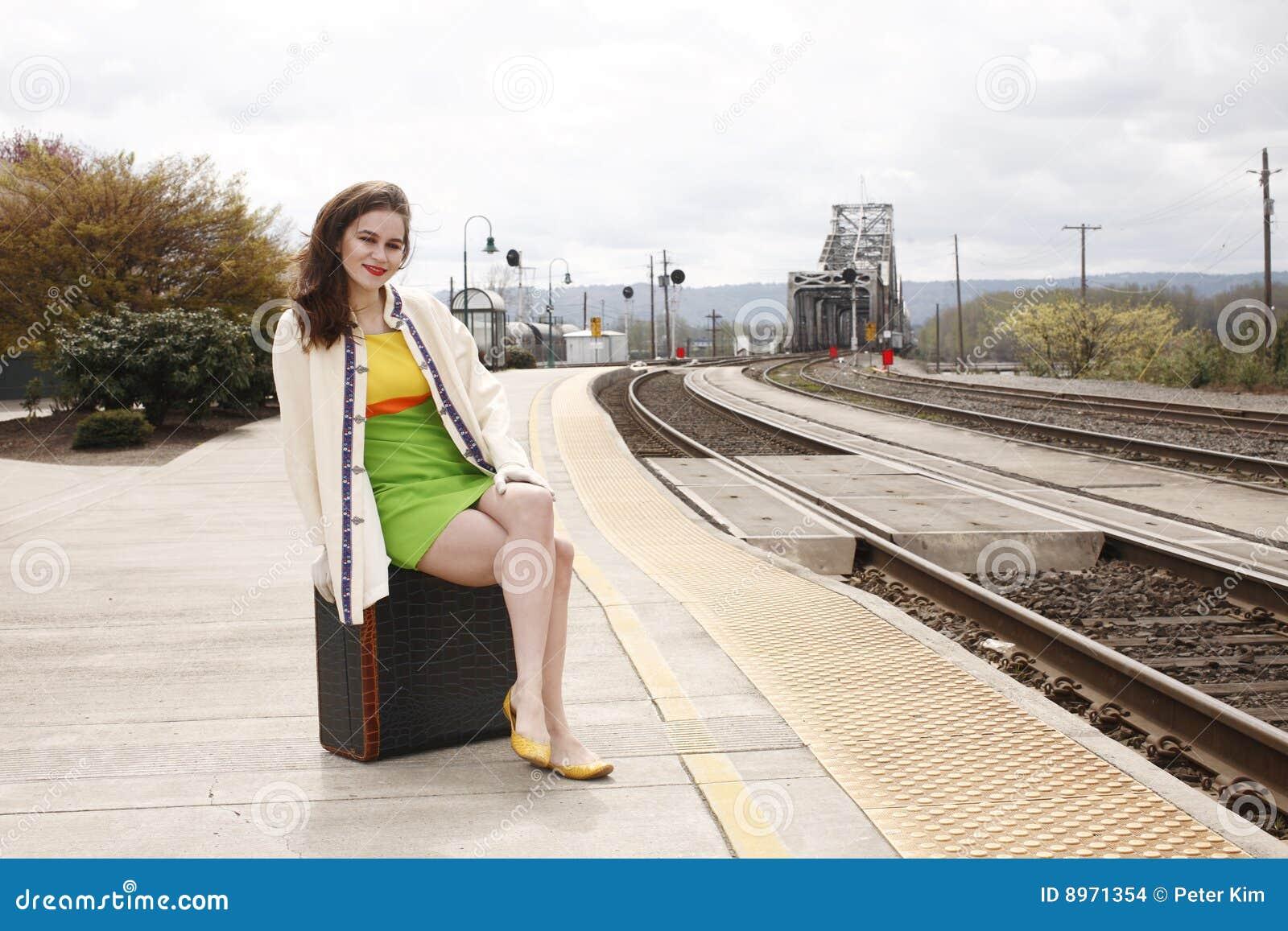Stationsdrevkvinna