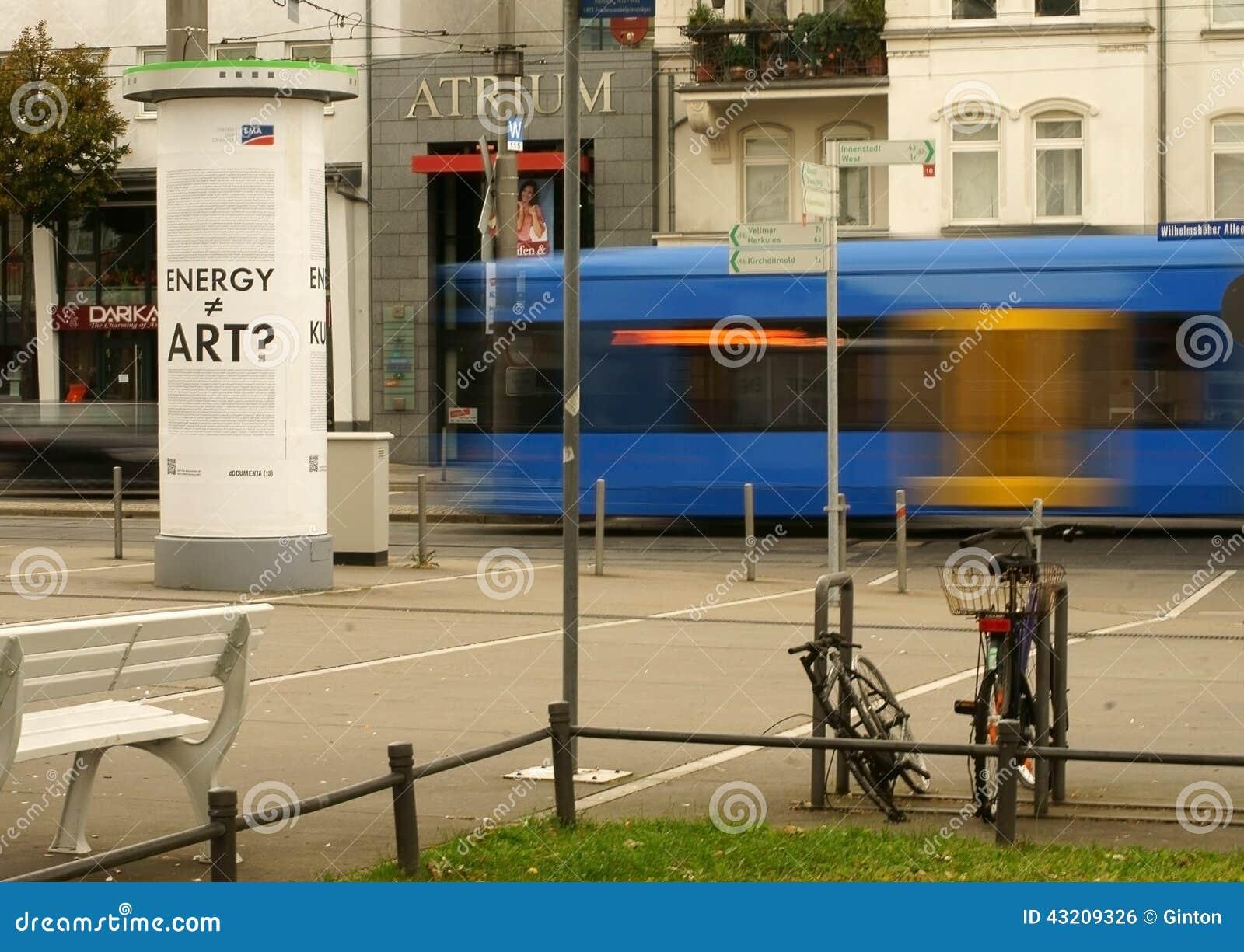 Download Stationsförgård Kassel redaktionell bild. Bild av park - 43209326