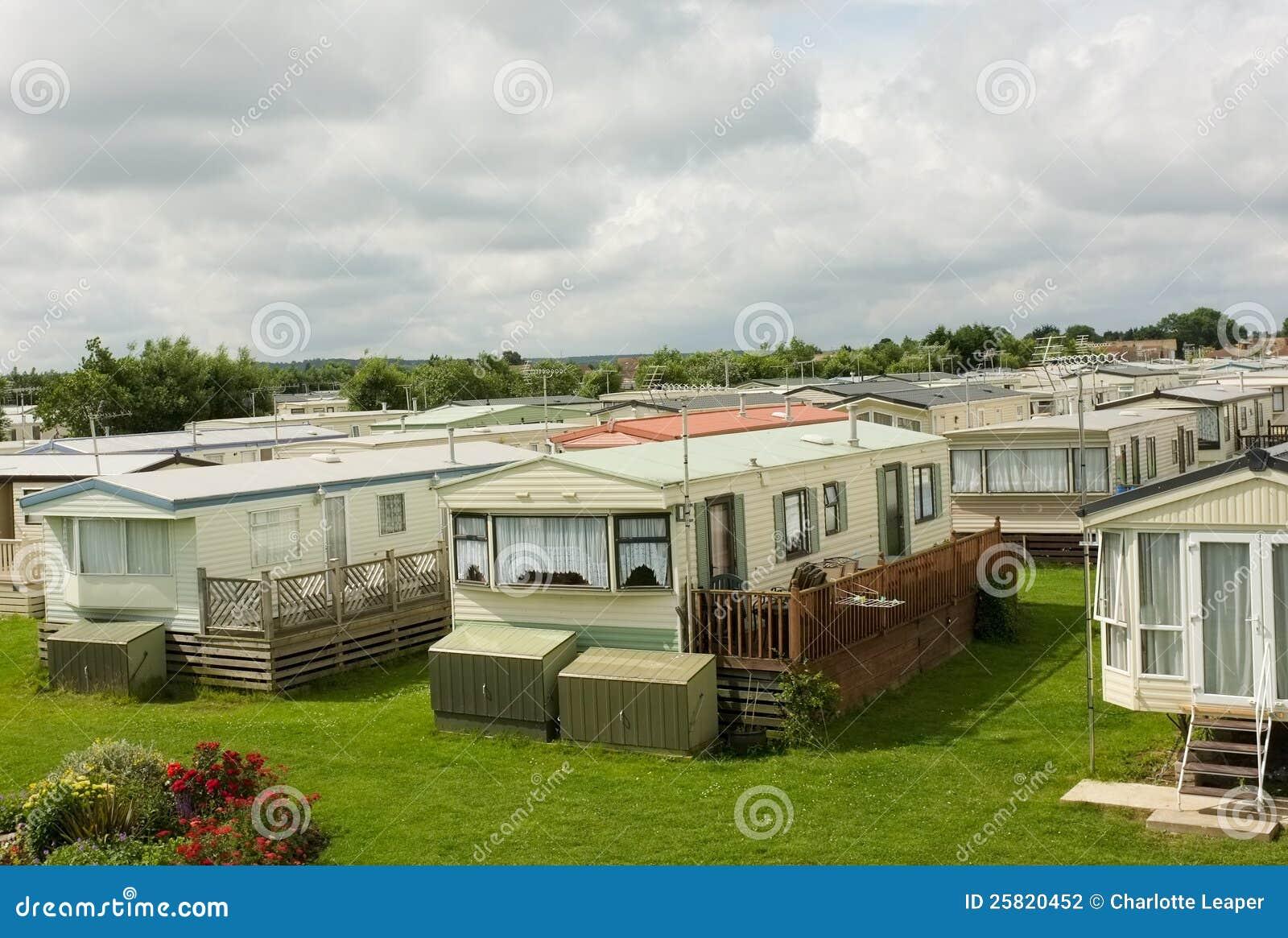 Wohnwagensiedlung