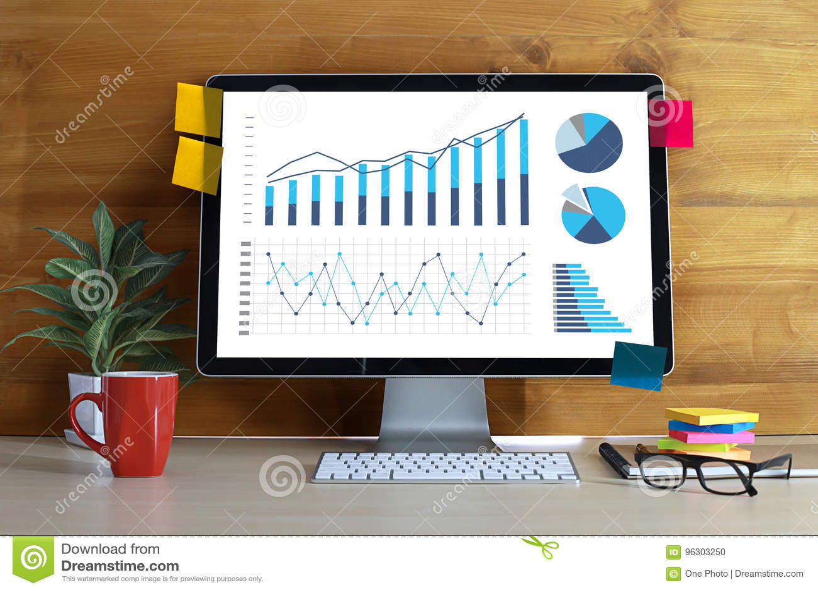 Statistics Analysis Business Data Diagram Growth Increase ...