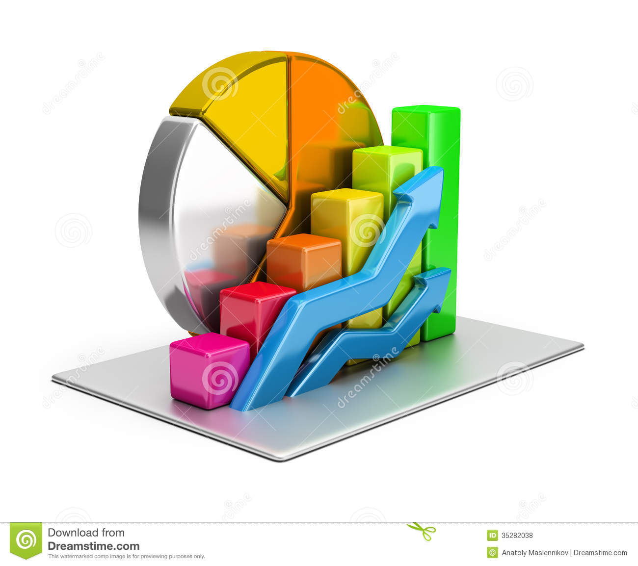 Statistics Concept Royalty Free Stock Photos Image 35282038
