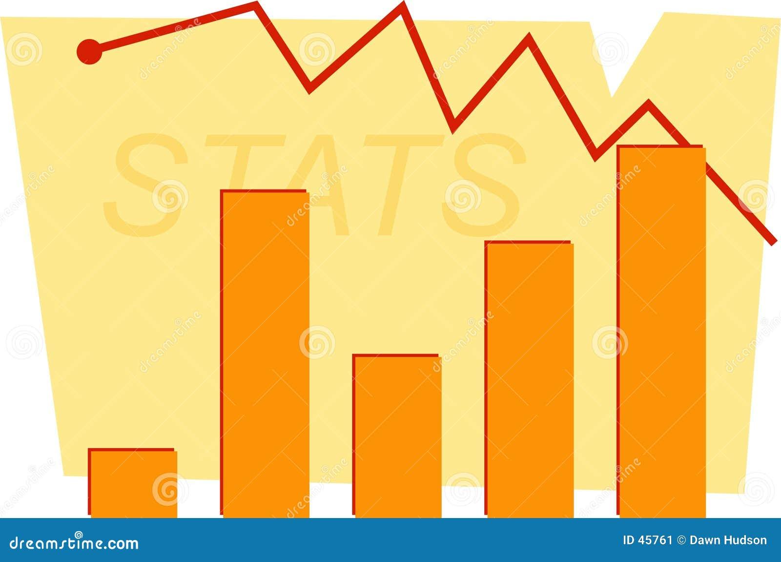 Statistik-Diagramm