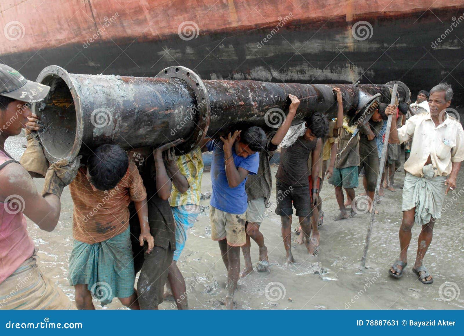 Statku łamanie w Bangladesz