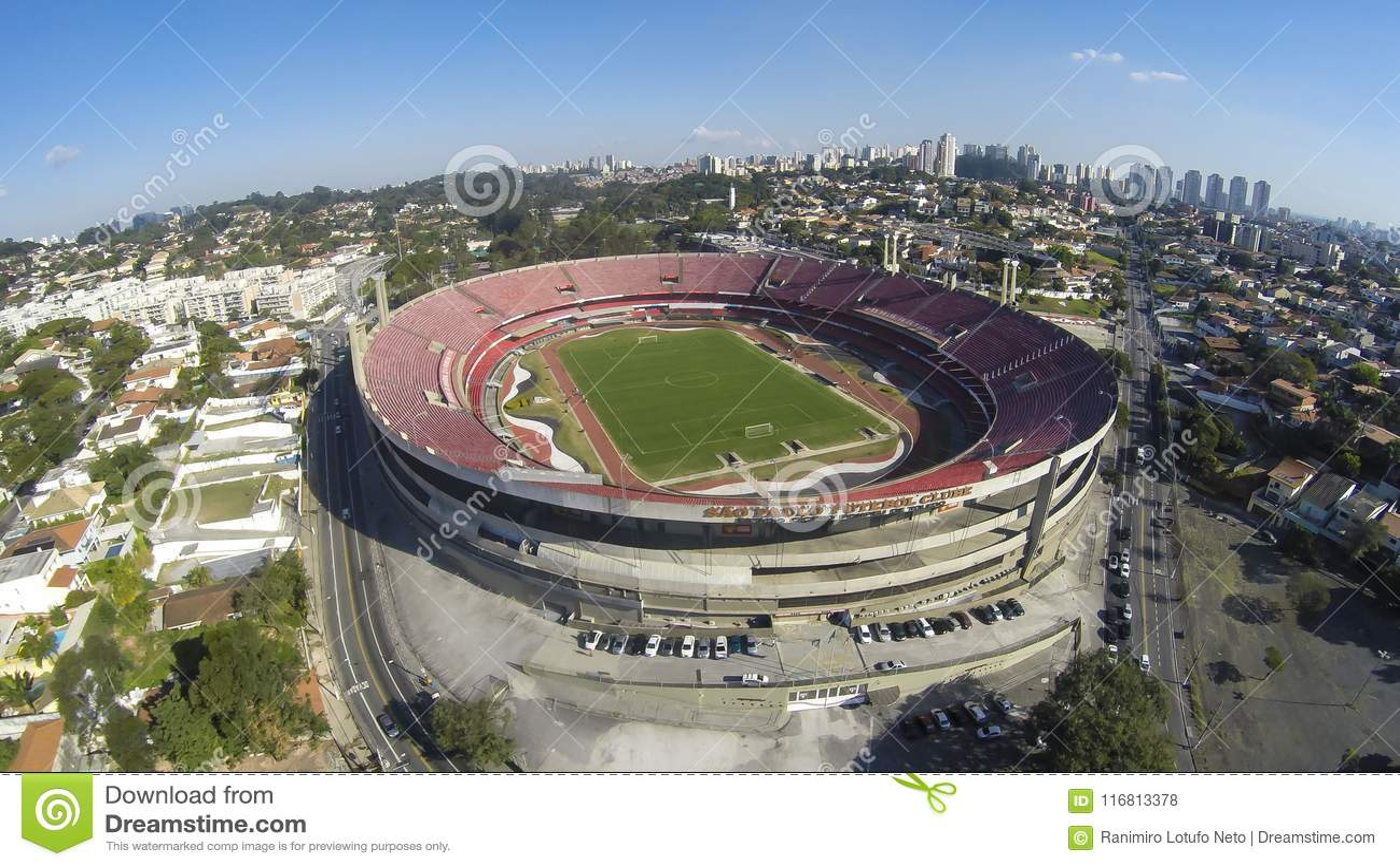 Stato di Sao Paulo, la città di Sao Paulo, del Brasile, del sao Paulo Futebol Clube o dello stadio Cicero Pompeu de Toledo
