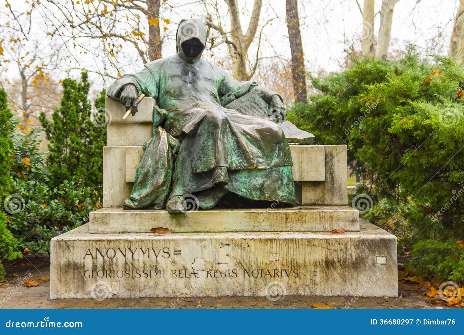 Statua Anonimowy W Węgry, Węgry