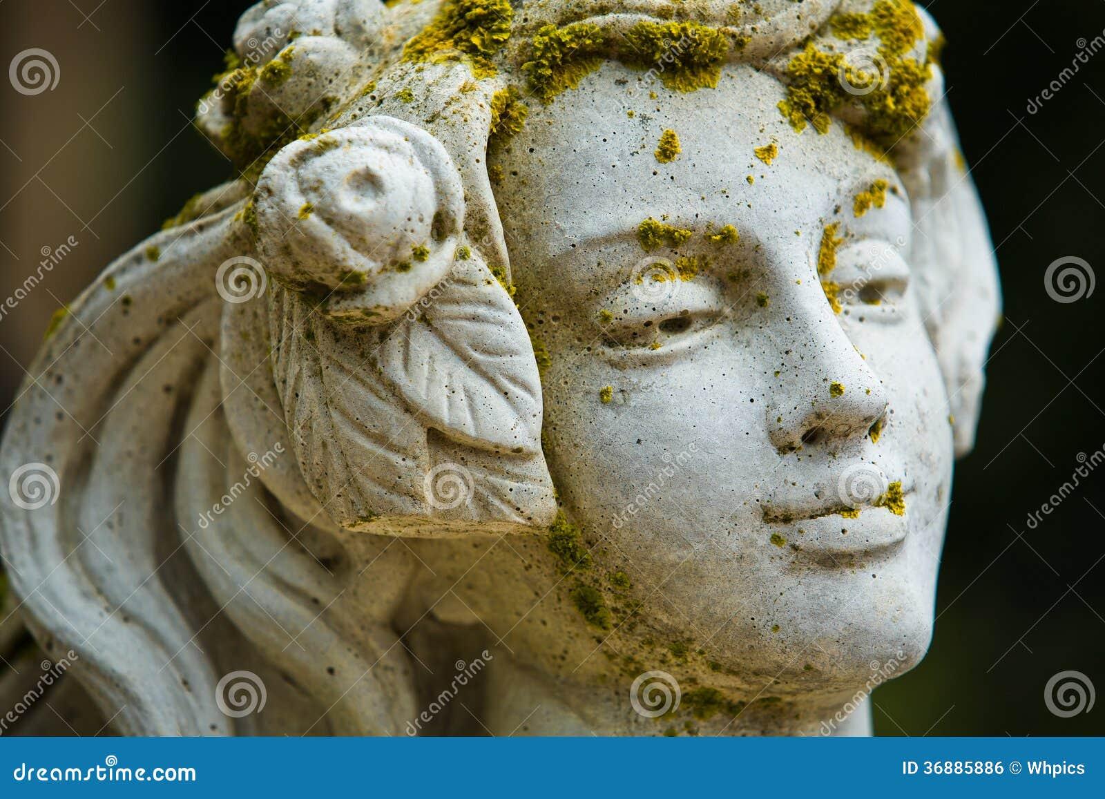 Download Statua del giardino fotografia stock. Immagine di romano - 36885886