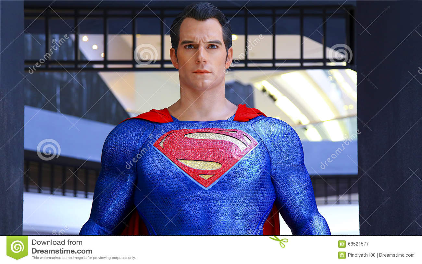Statua del superman