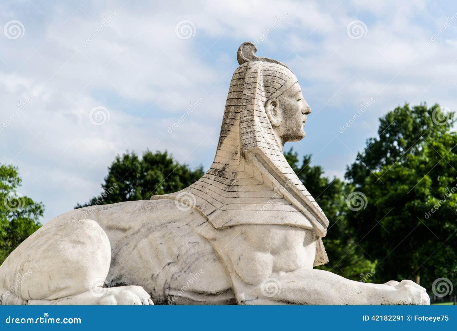 Statua della Sfinge dell Egitto