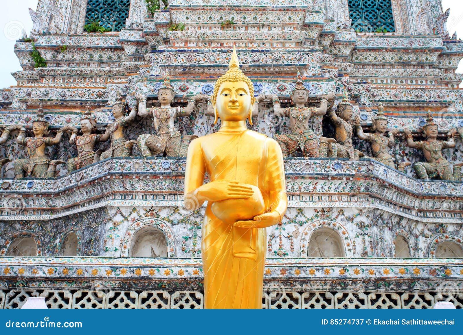 Statua di Buddha in Wat Arun Thailand