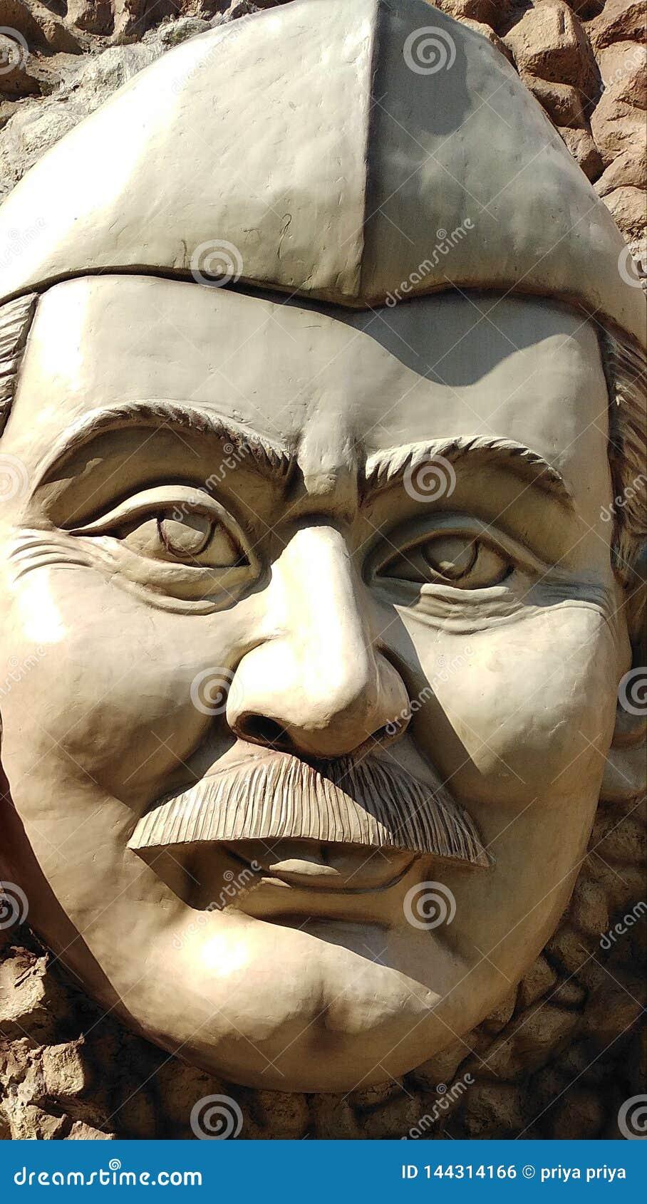 Statua di Chaudhary Charan Singh