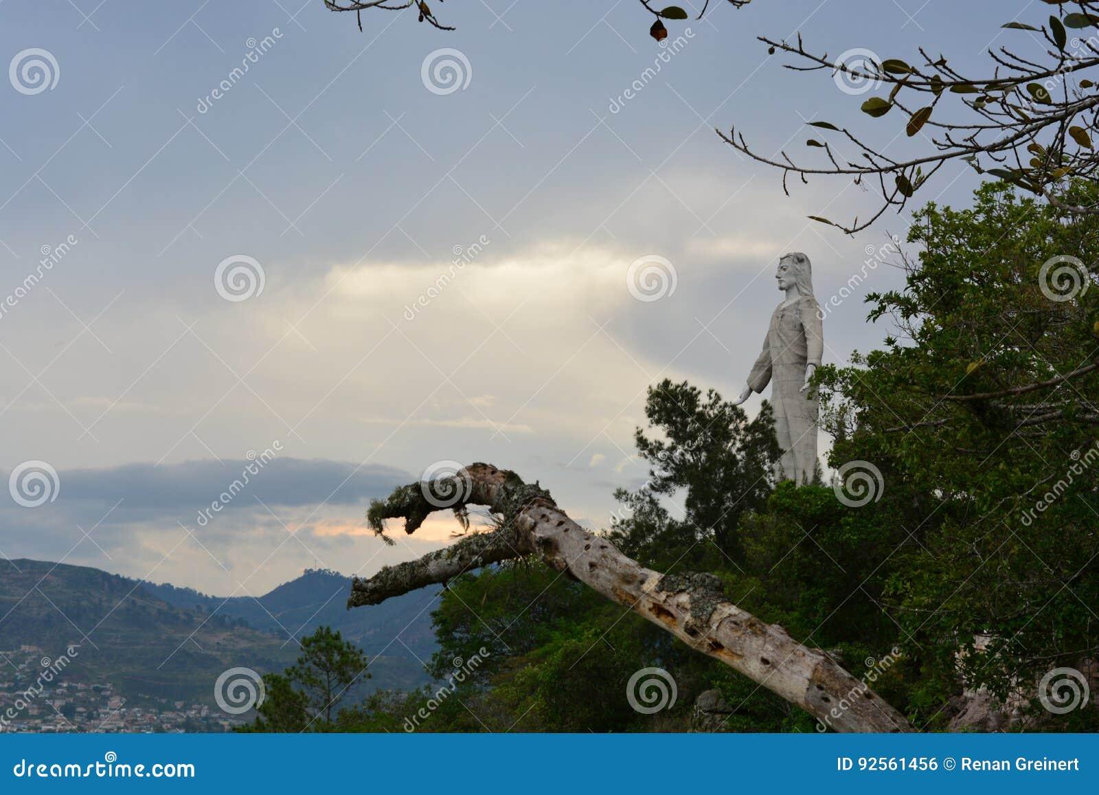Statua di Cristo del Picacho a Tegucigalpa, Honduras