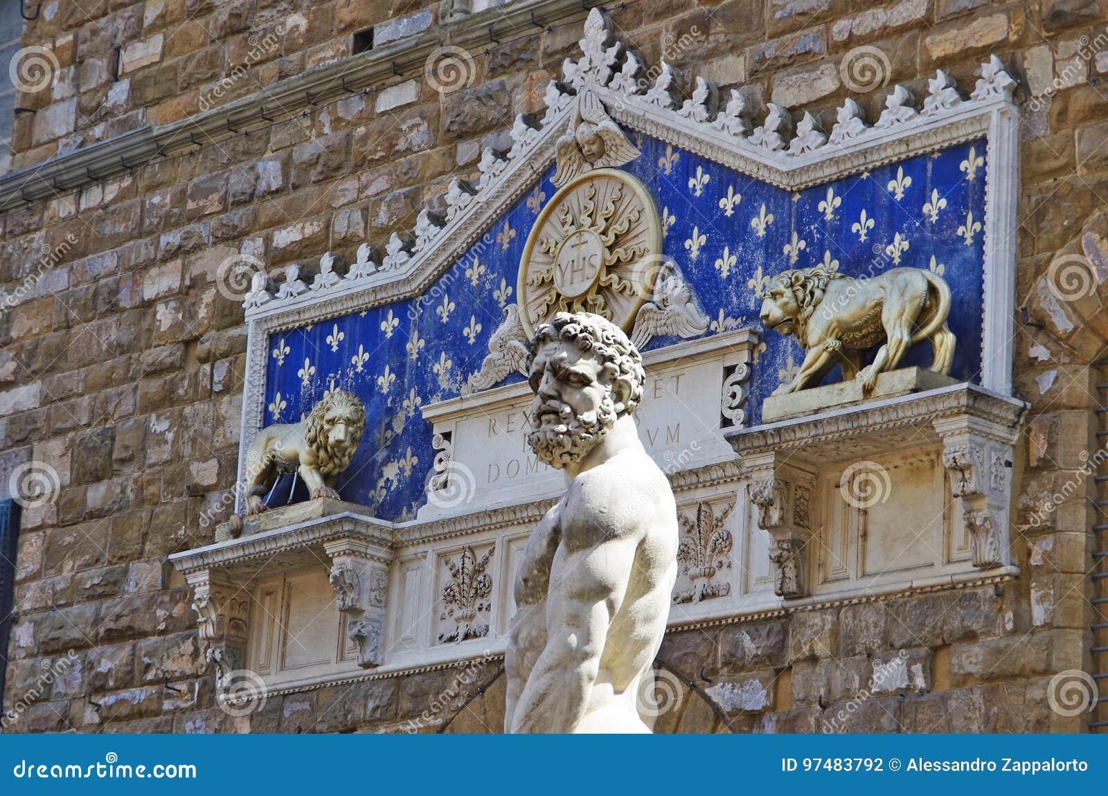 Statua di Ercole e Caco da Baccio Bandinelli