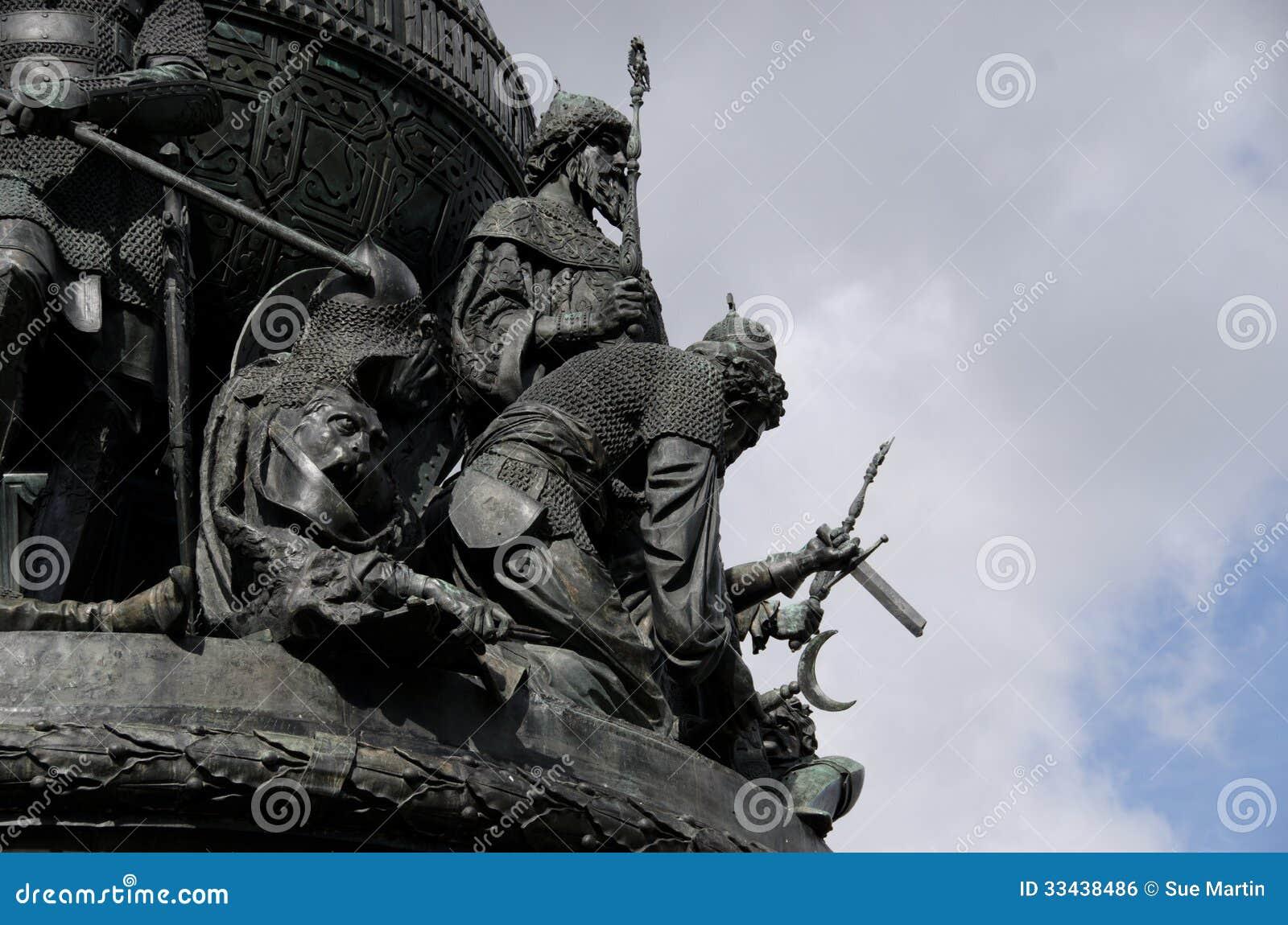 Statua di millennio di Novgorod