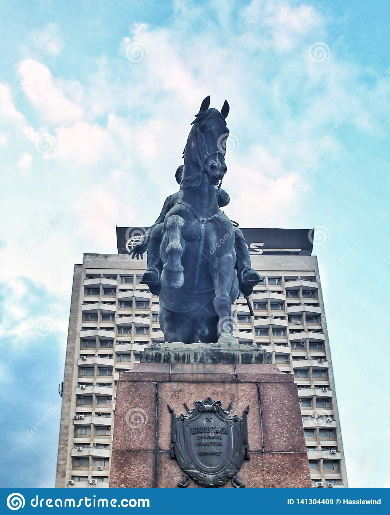 Statua Moldavia di Kutuzof
