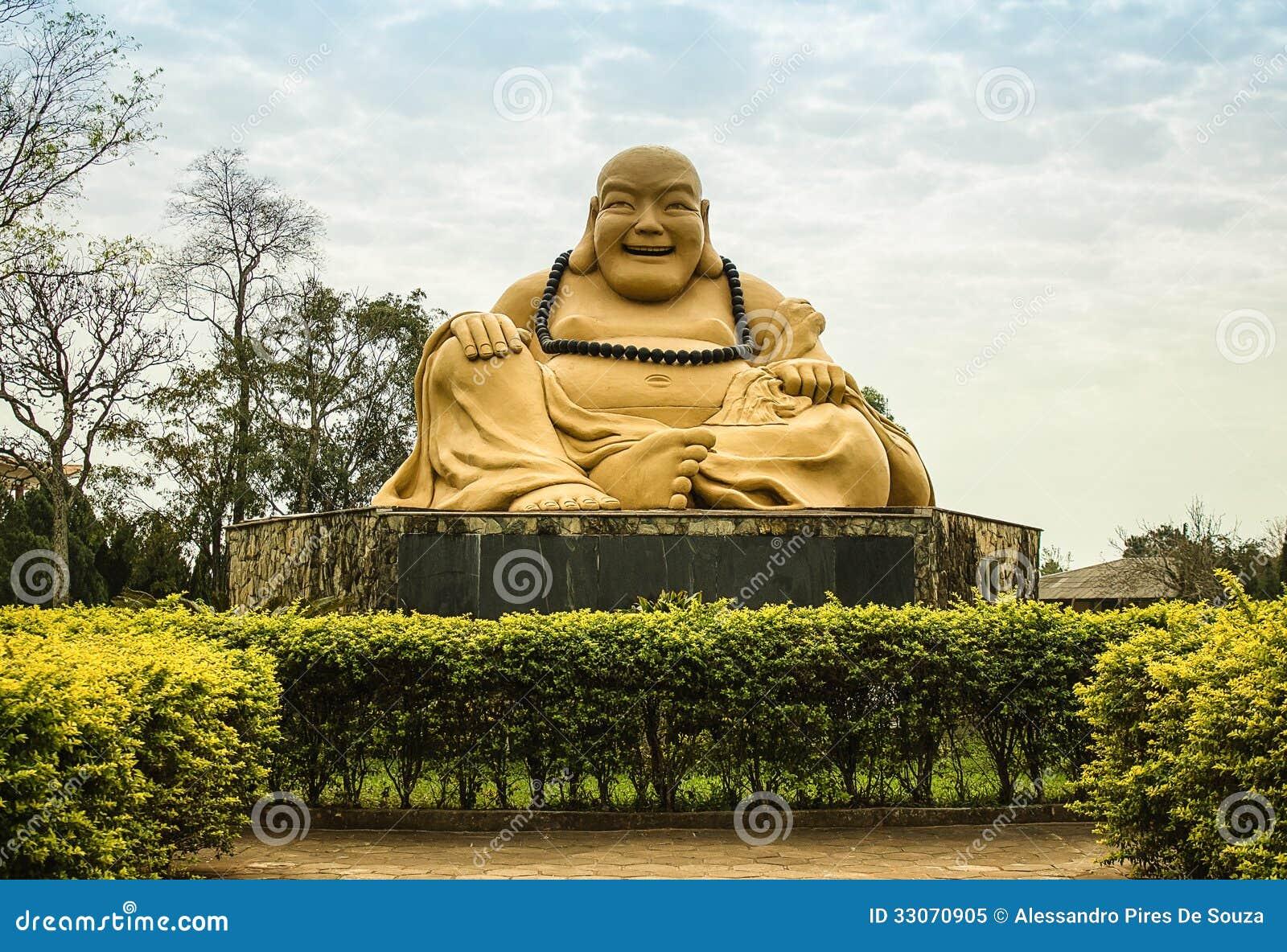 Estremamente Statua Nel Tempio Buddista, Brasile Di Buddha Immagine Stock  JJ91