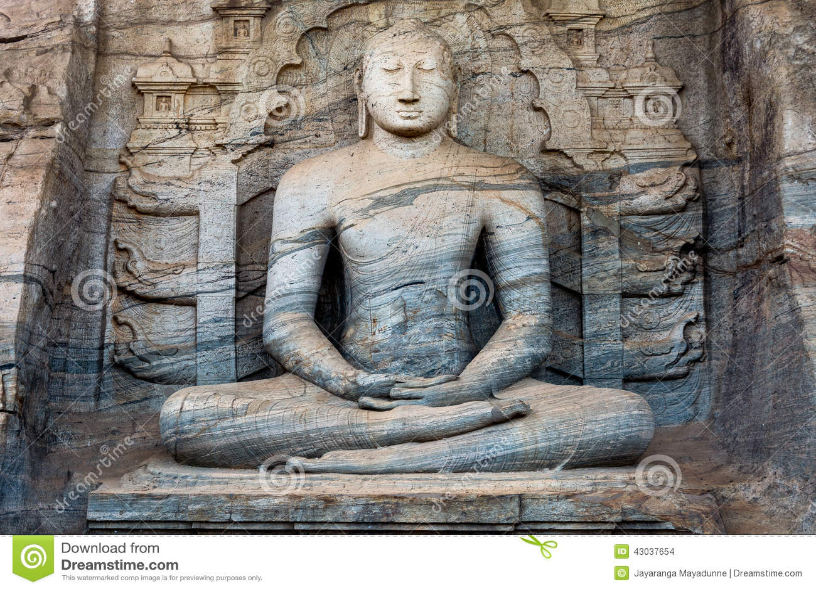 Statua władyka Buddha
