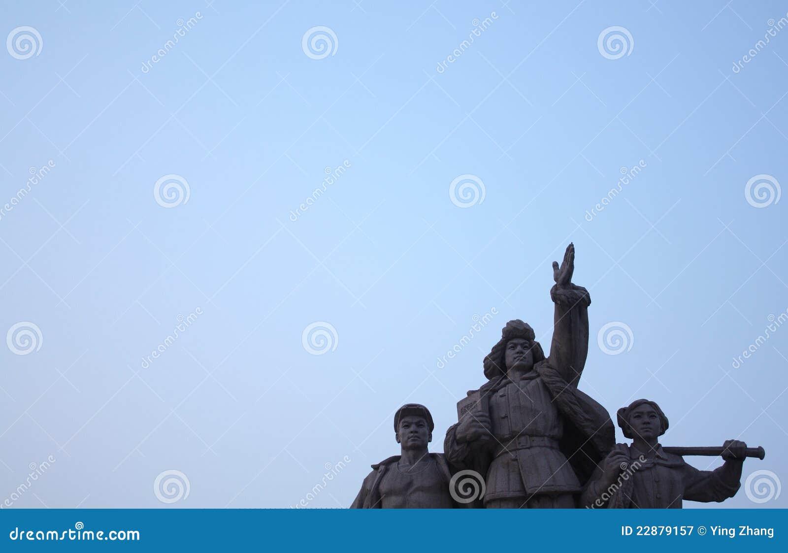 Statuary do quadrado de Tian an