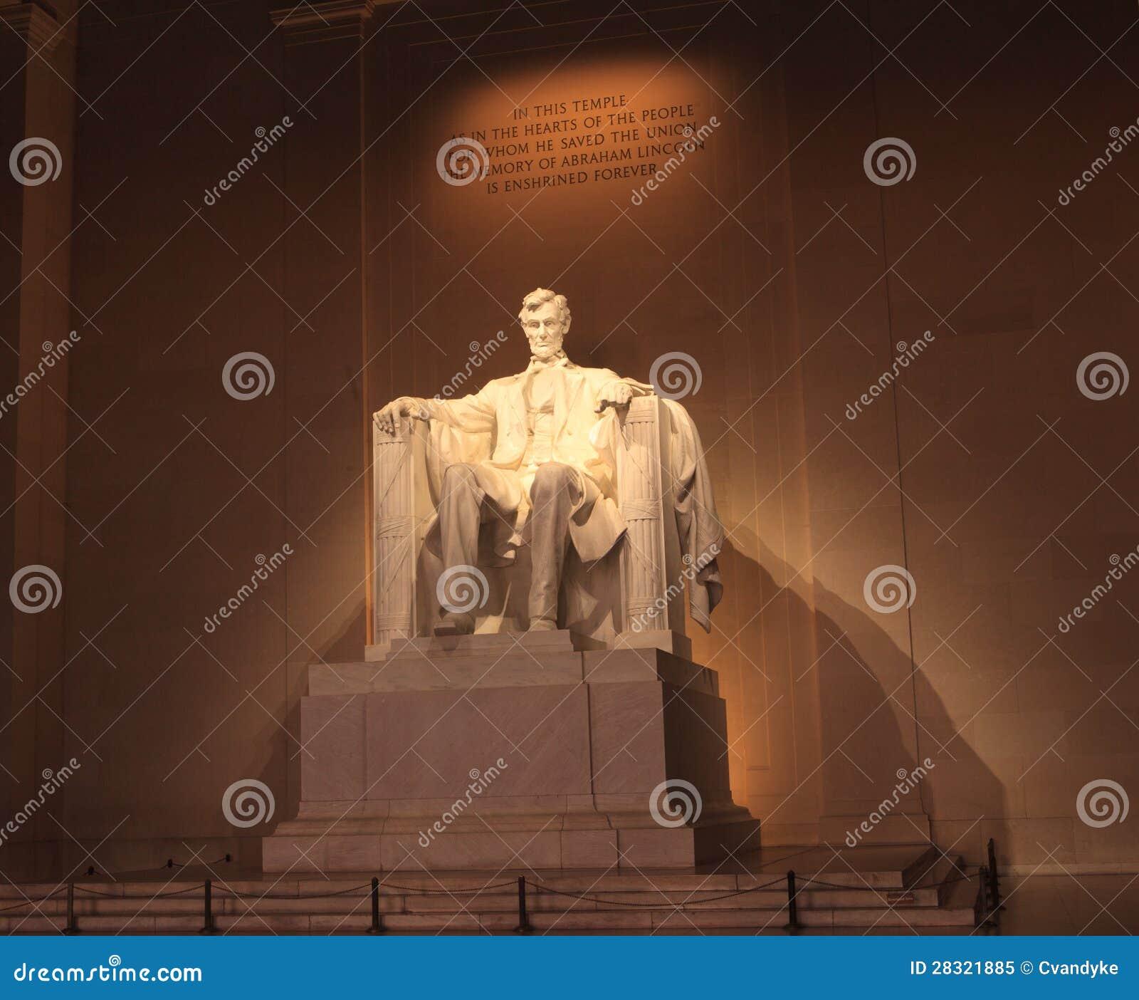 Abraham Lincoln Washington DC Monument