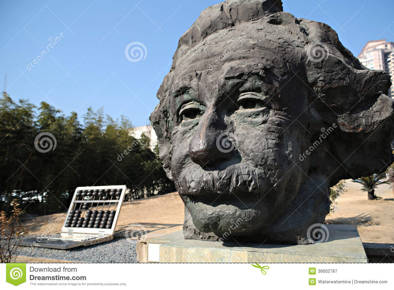 Statue Of Albert Einstein Royalty Free Stock Photography - Image ...