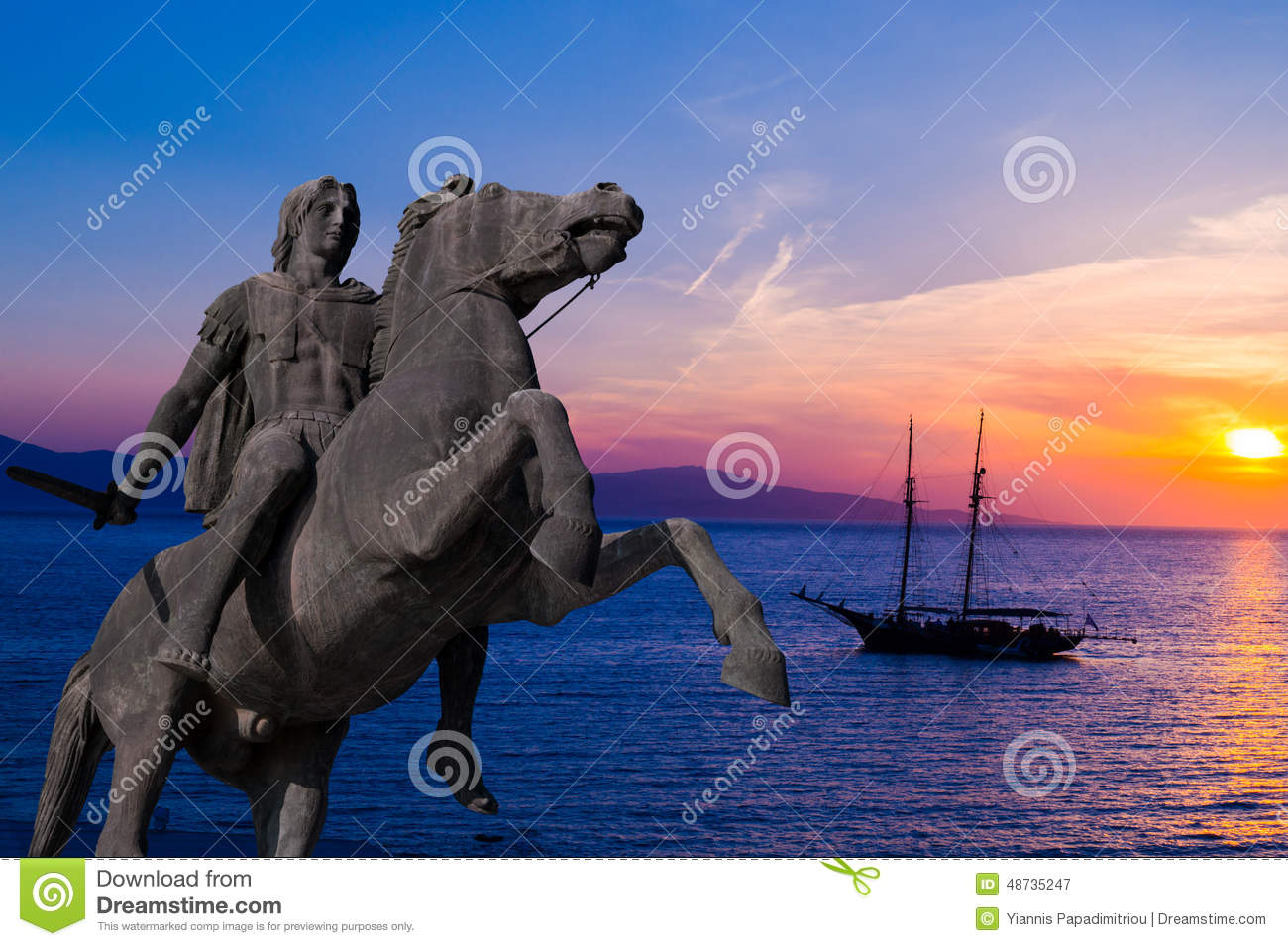 "alexander the great s ability as a At this time, alexander the great's empire stretched from the adriatic sea to the indus river in 332 bc alexander next started the conquest over egypt where he was pronounced the new ""master of the universe"" and named the city alexandria after himself."