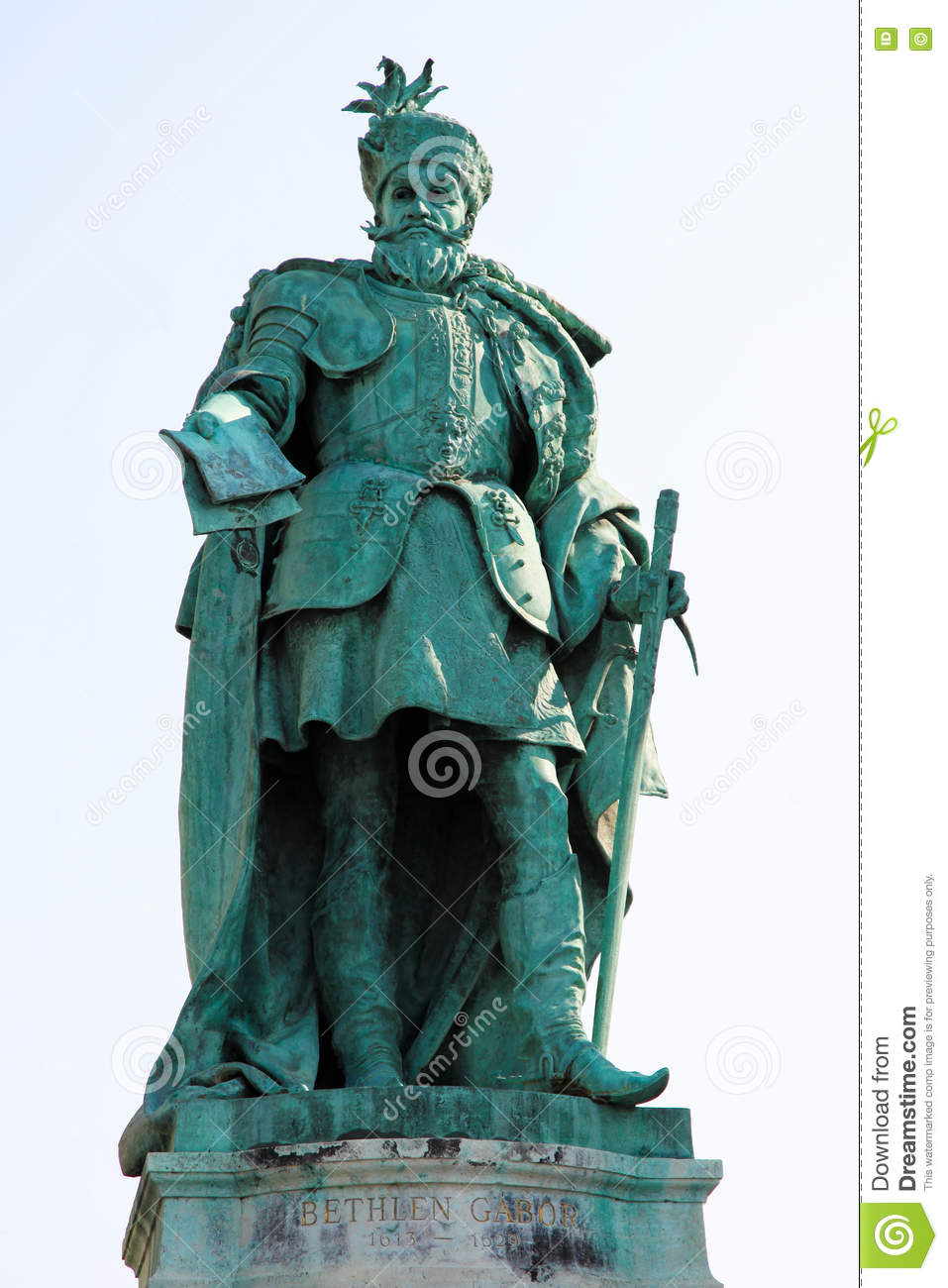 Statue of in Budapest, Hungary