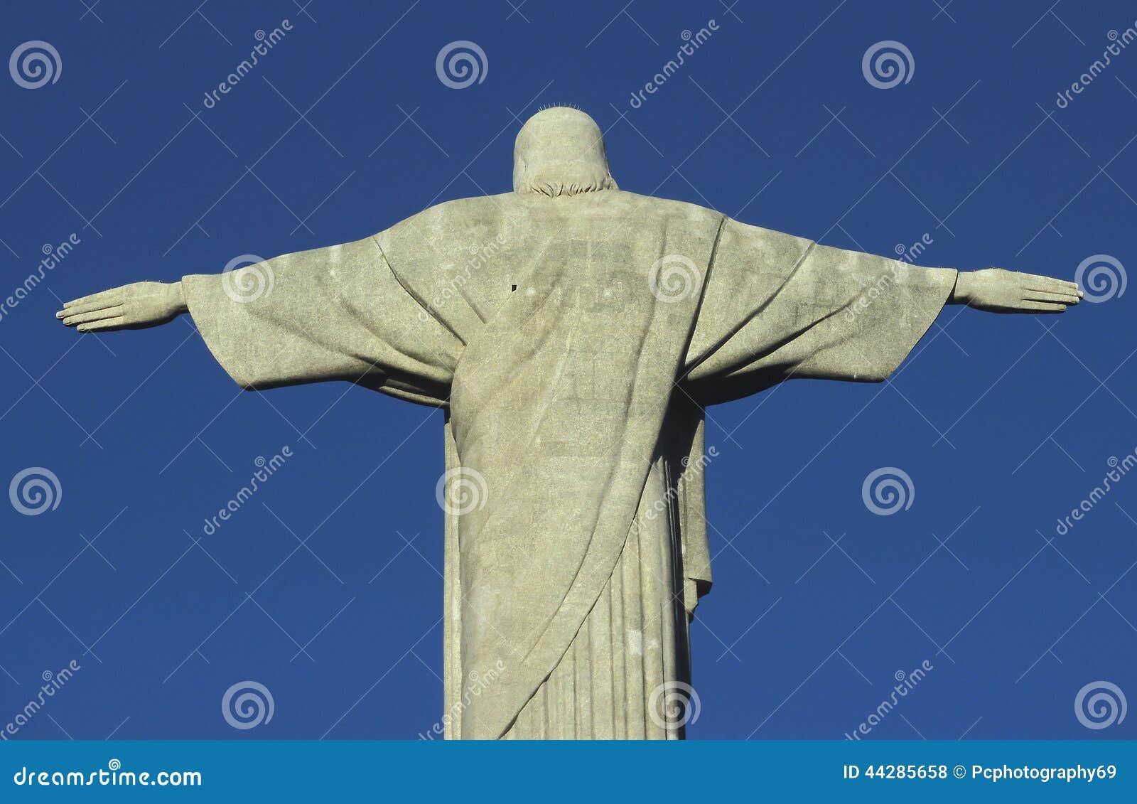 Statue of Christ the Redeemer, Rio de Janeiro, Brazil.
