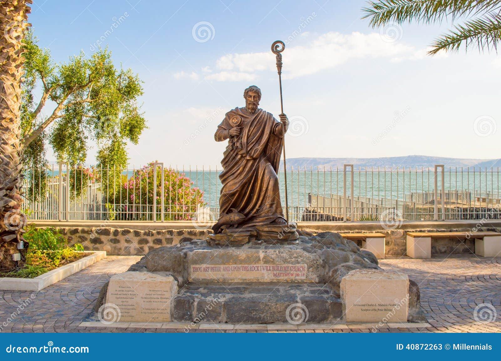 Statue d apôtre Peter
